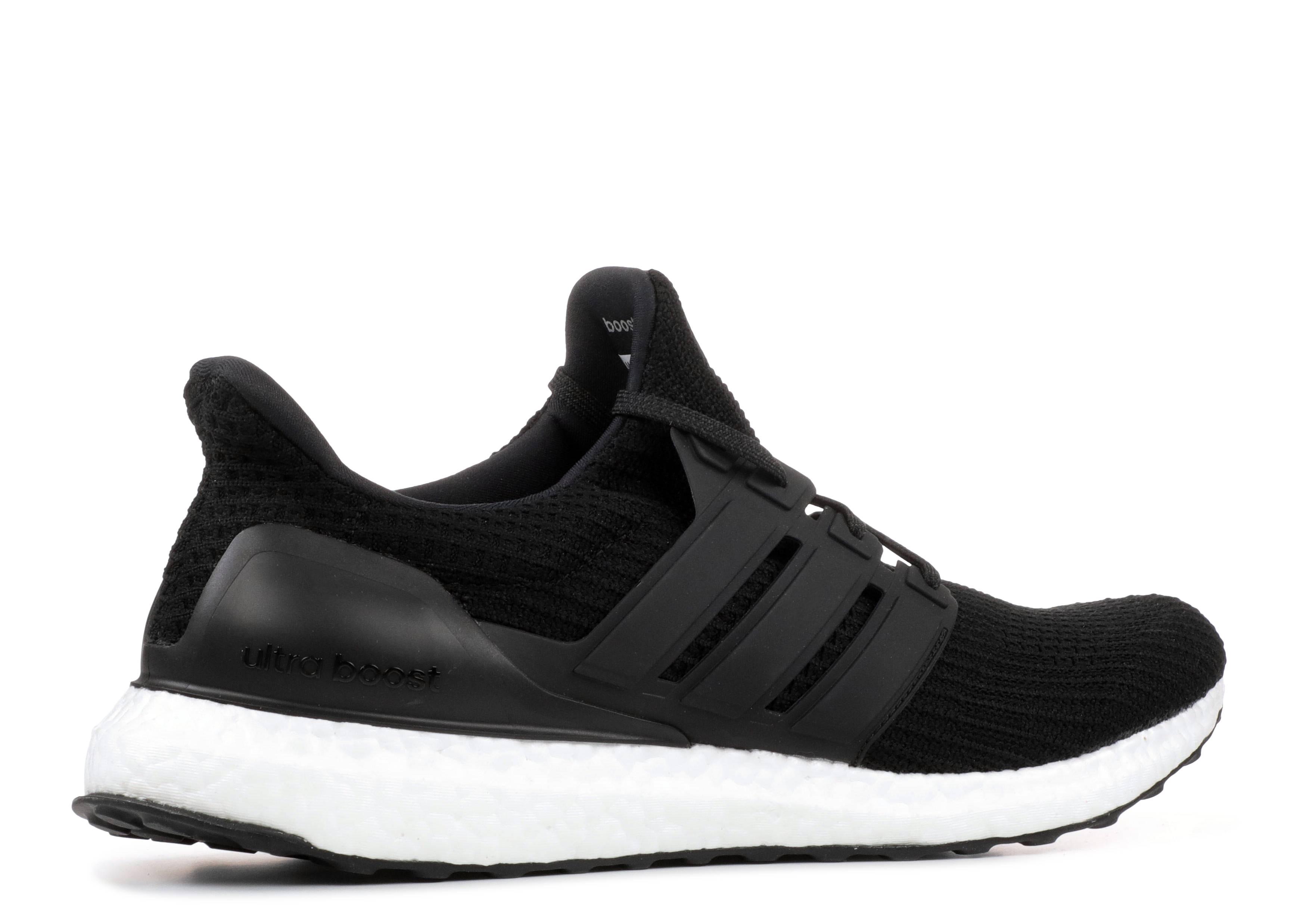 UltraBoost - Adidas - bb6166 - core black core black white  1ee37e9fc