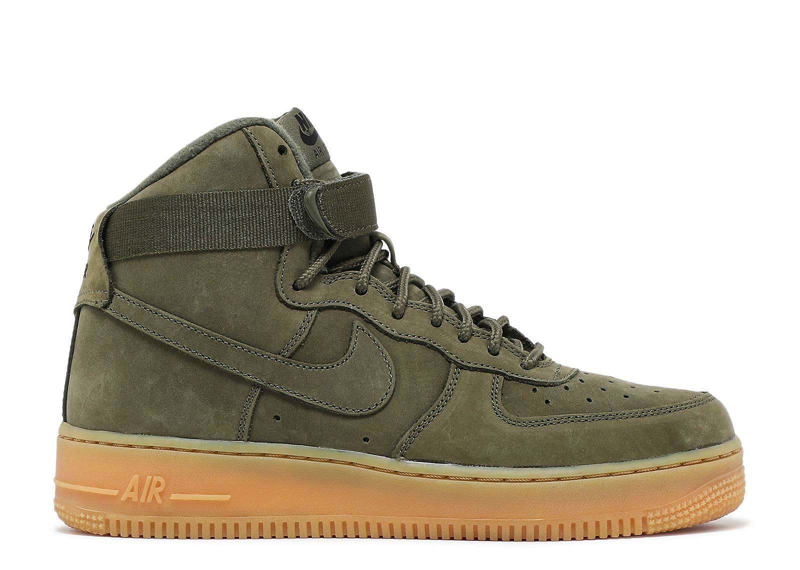 "Air Force 1 High WB (GS) ""Medium Olive"""