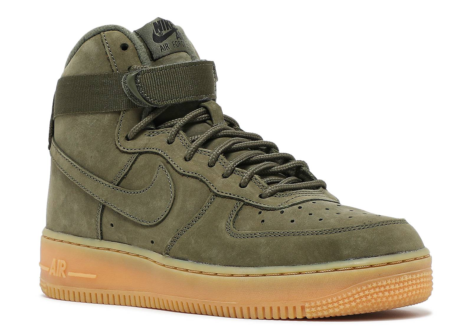 nike air force ones green