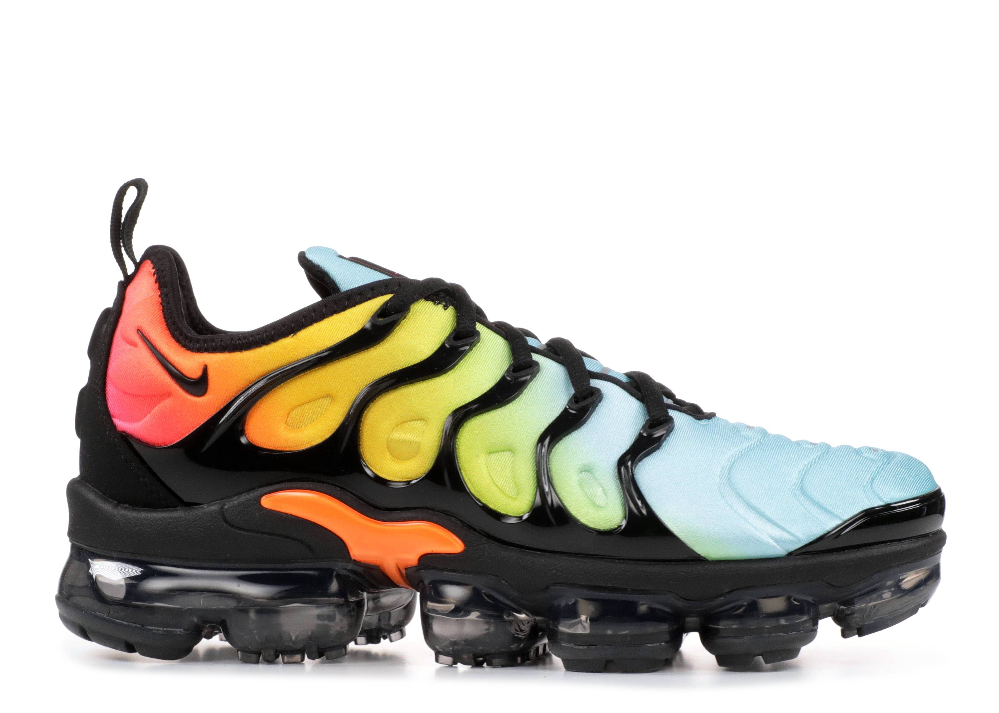 15e9b1a60b W Air Vapormax Plus - Nike - ao4550 002 - black/black-beached aqua ...