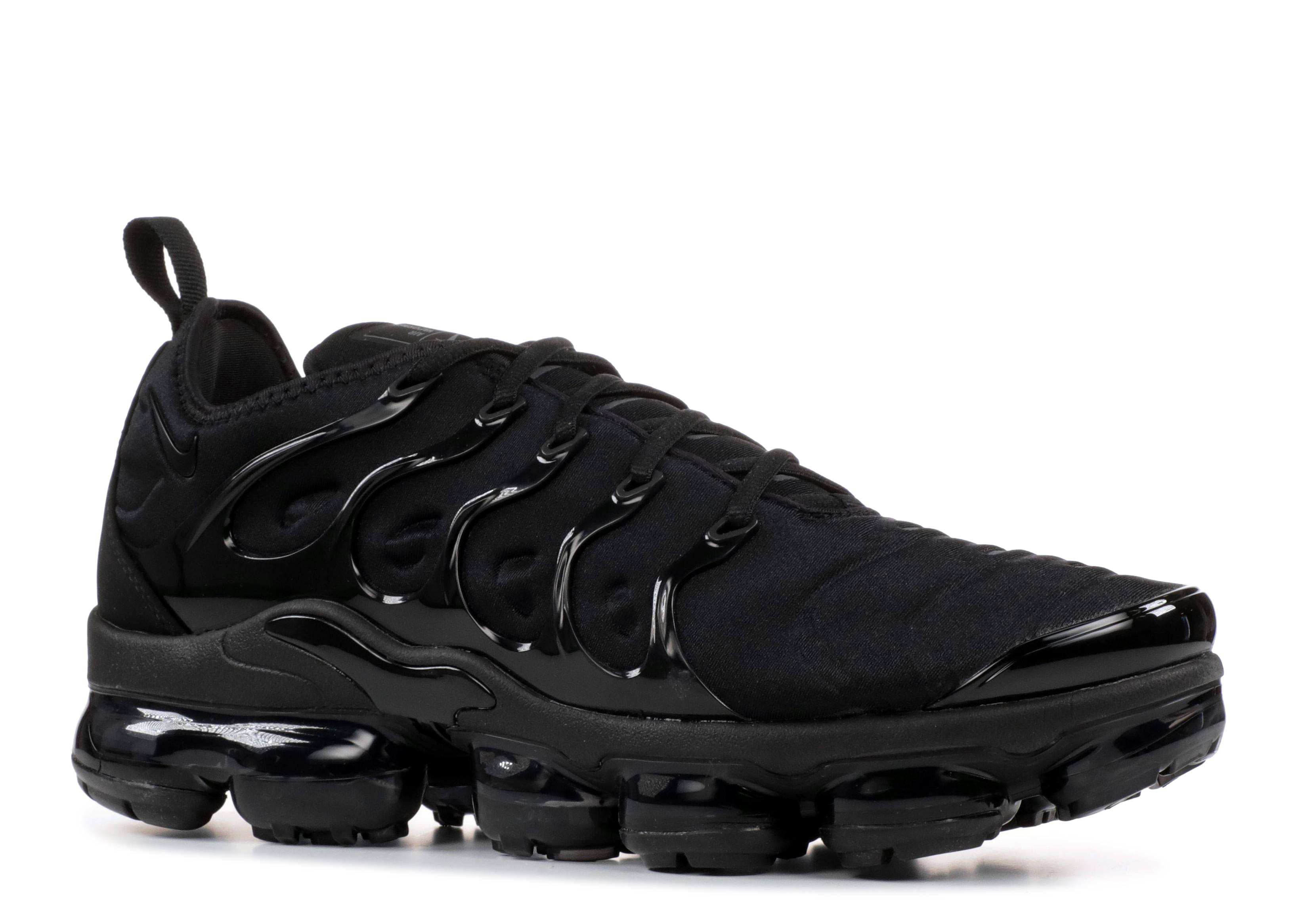 ad12fbc19477 Nike Air VaporMax Plus Triple Black - 2