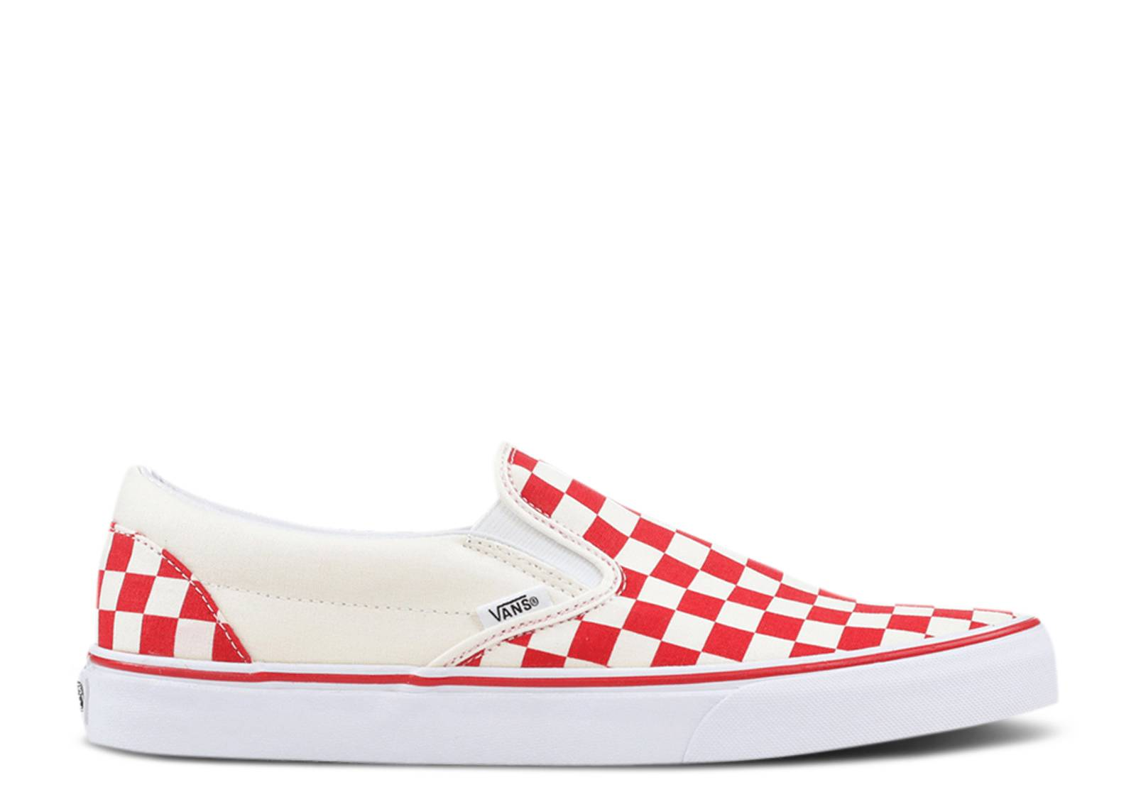 "CLASSIC SLIP-ON ""Checkerboard Red"""