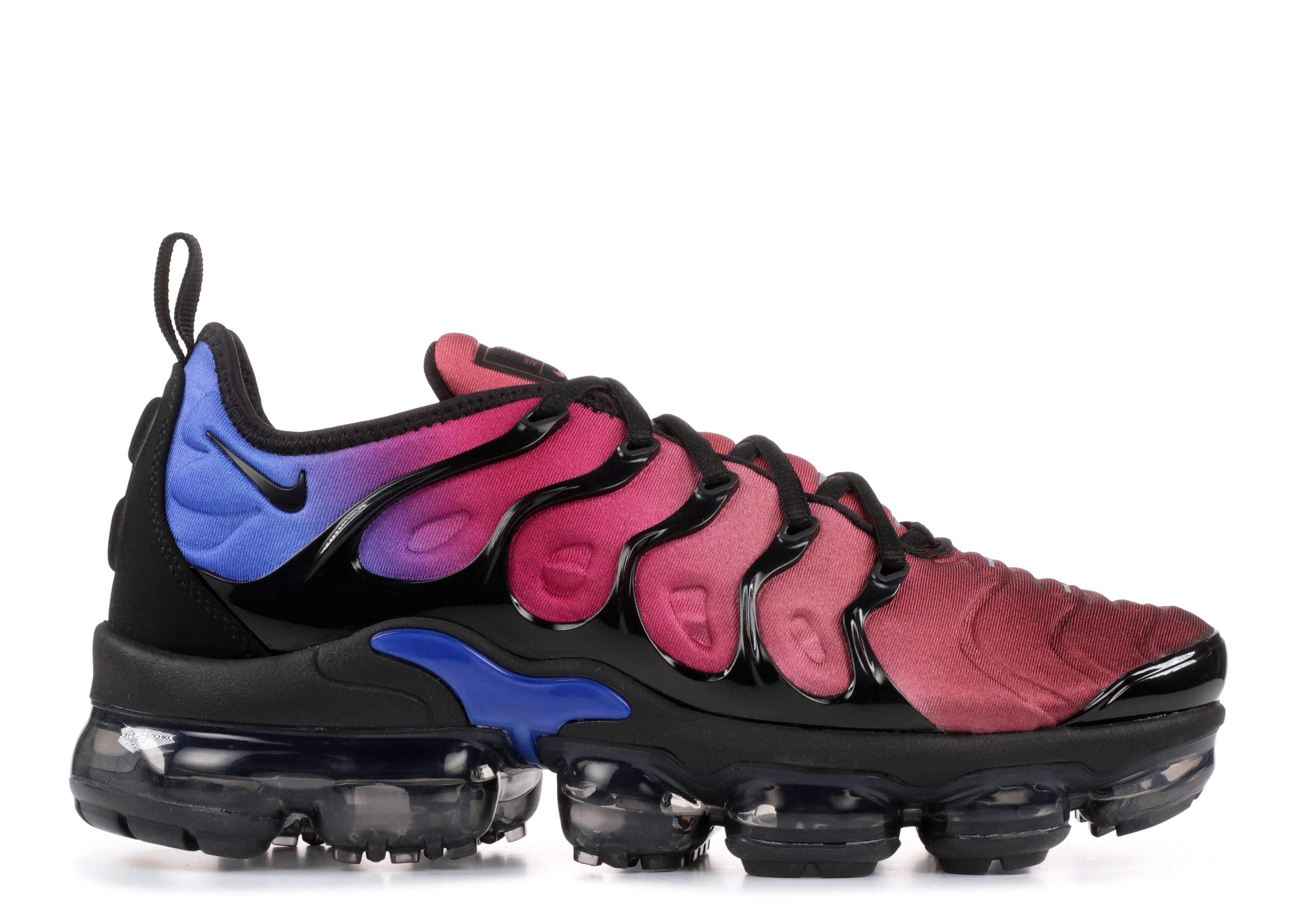 W Air Vapormax Plus - Nike - ao4550 001 - black black-team red ... fb4c55316