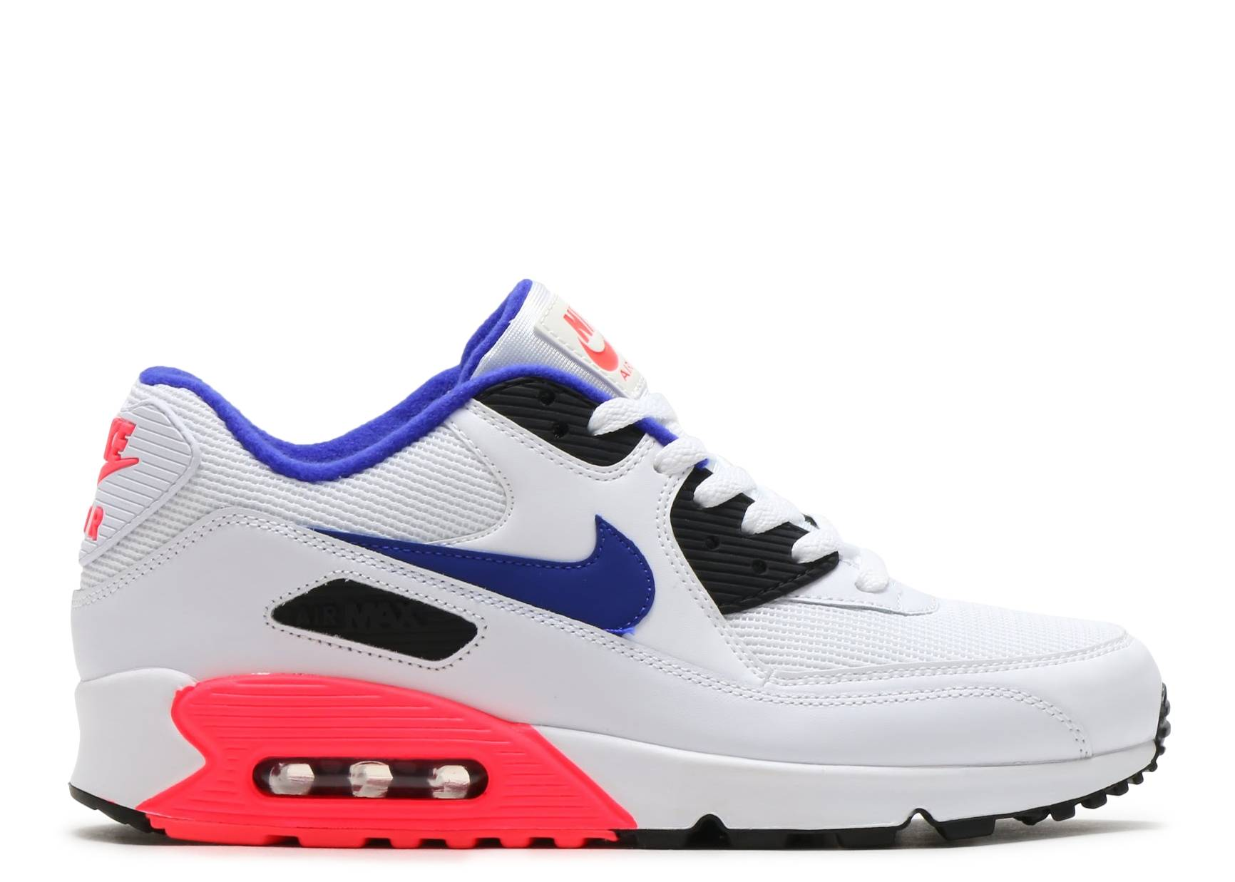air max 90 essential nike 537384 136 white ultramarine solar red black flight club. Black Bedroom Furniture Sets. Home Design Ideas
