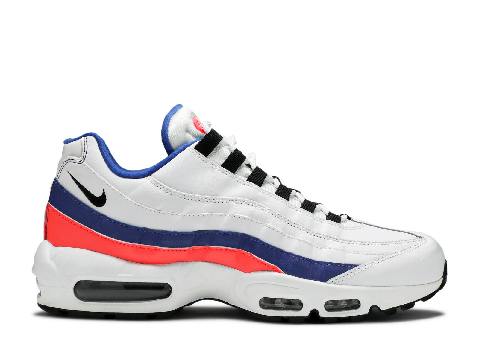 Air Max 95 Essential - Nike - 749766 106 - white/black-solar red ...