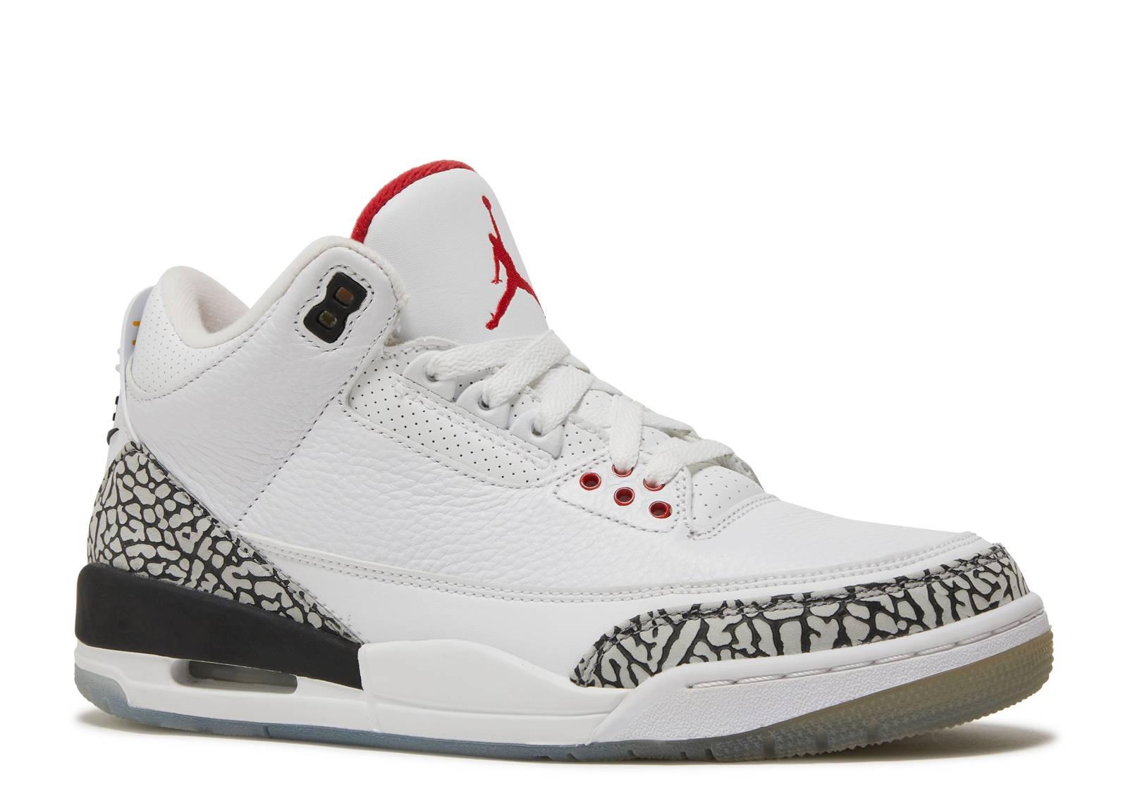 bd68f636834a Jordan 3 Retro Free Throw Line White Cement - 1