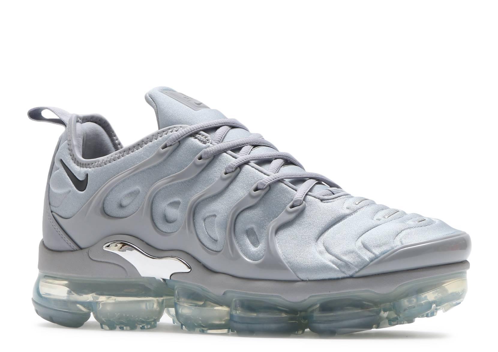 6d323507b8cd AIR VAPORMAX PLUS - Nike - 924453 005 - wolf grey dark grey-metallic silver