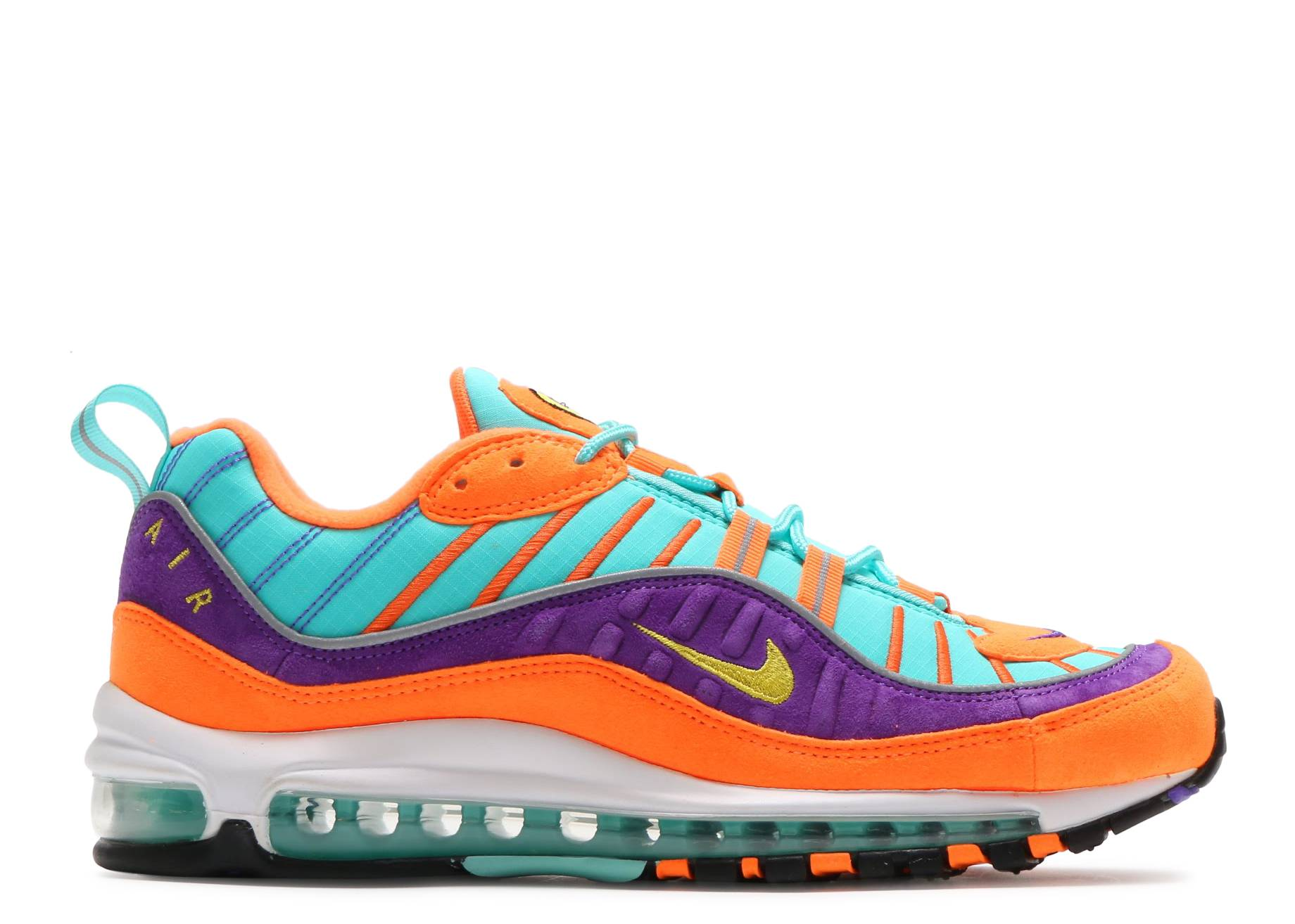 AIR MAX 98 QS - Nike - 924462 800 - cone tour yellow-hyper grape ... 05e5c5ea89
