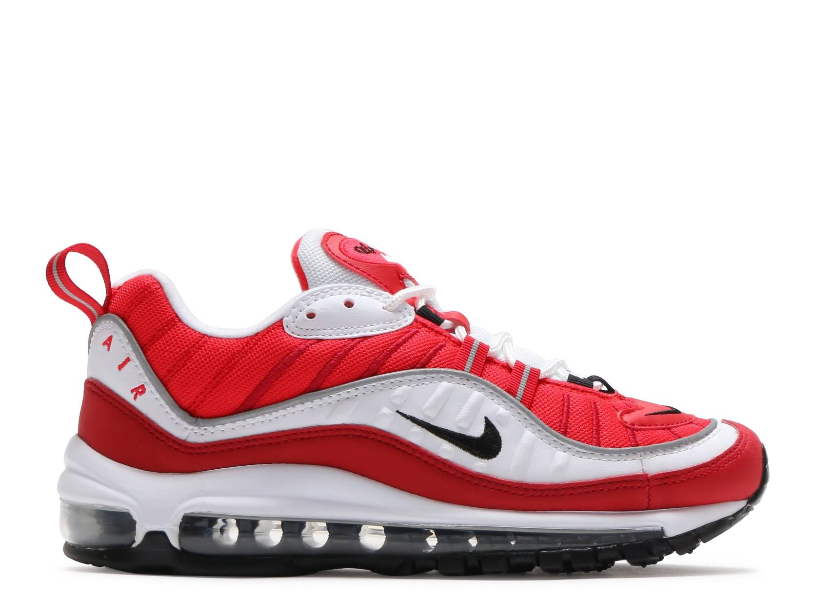 W Air Max 98 - Nike - ah6799 101 - white black-gym red  a8e20a536