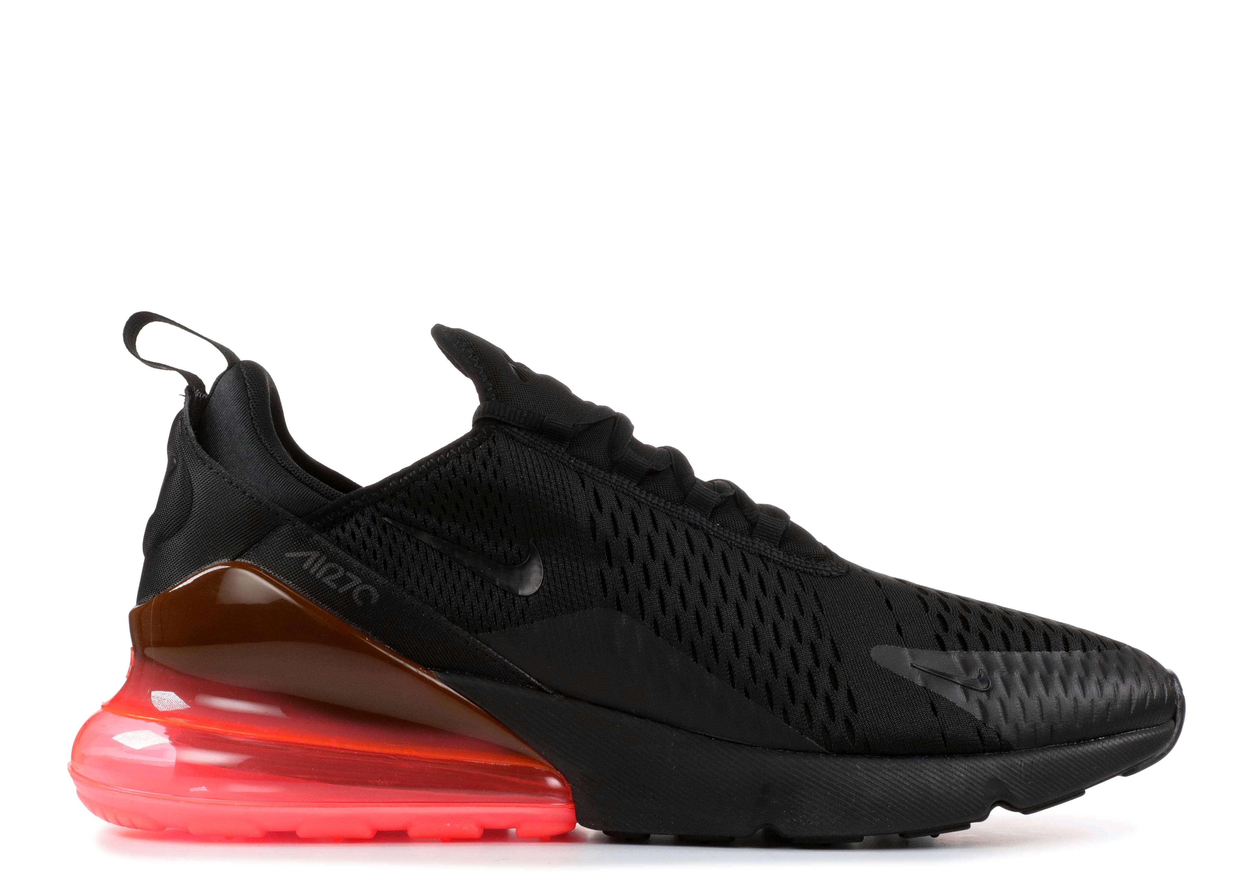 d930a0ed7aa6f1 AIR MAX 270 - Nike - ah8050 010 - black black-hot punch