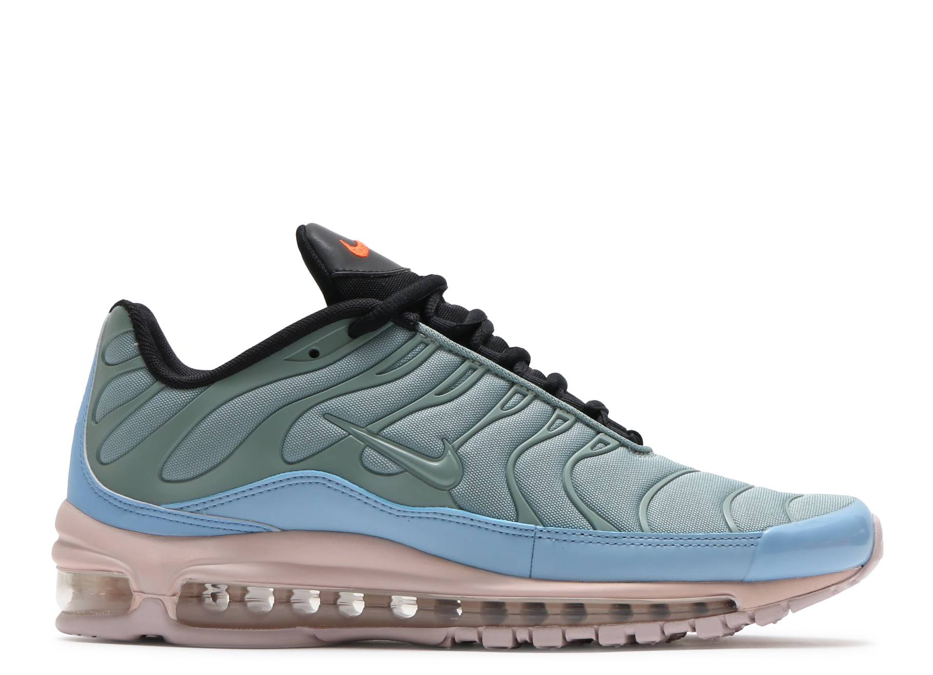 4a8dcd5d7c AIR MAX 97 / PLUS - Nike - ah8144 300 - mica green/barely rose-leche ...