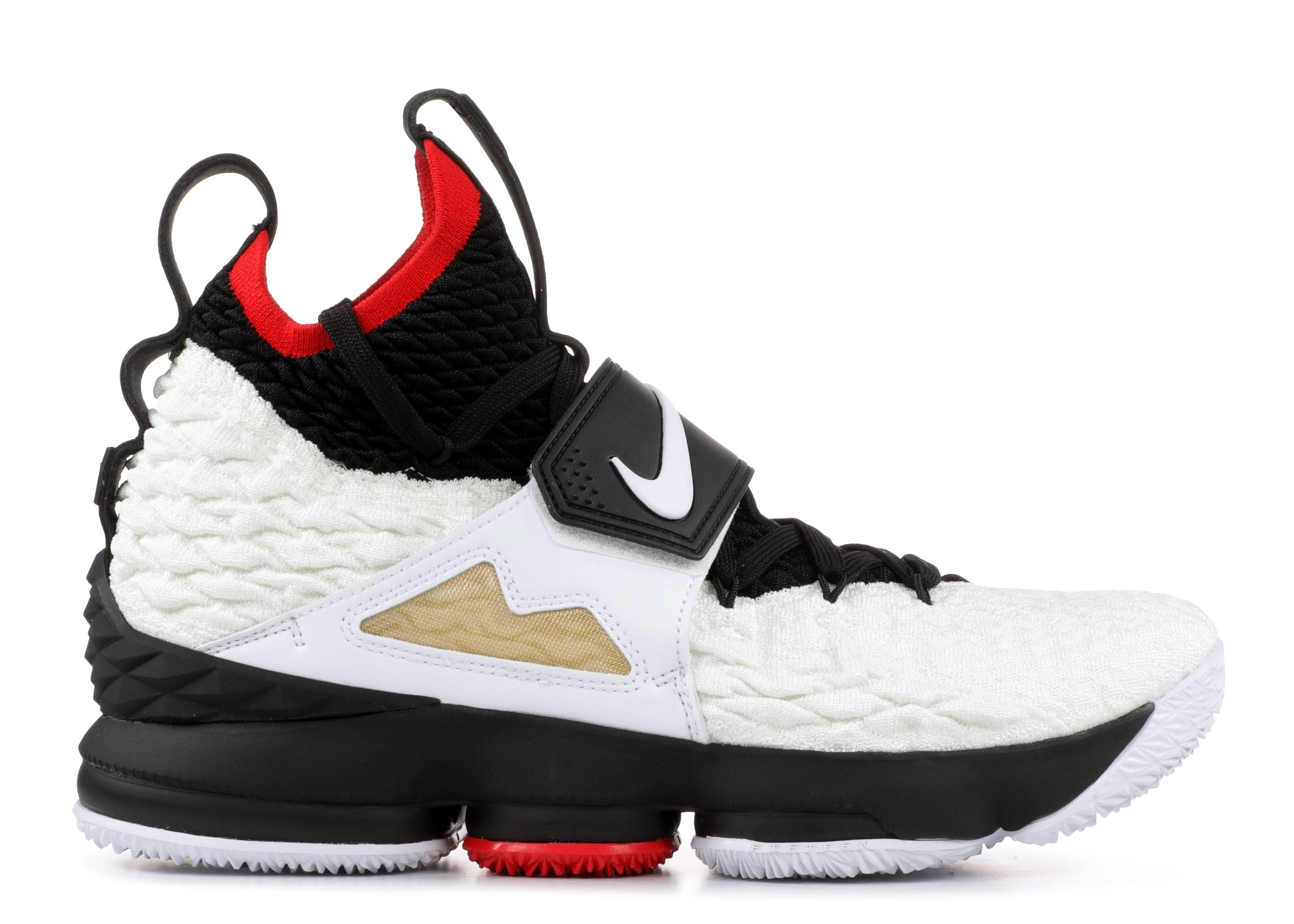 507b2c1dfa8db Lebron XV Prime - Nike - AO9144 100 - white white-black