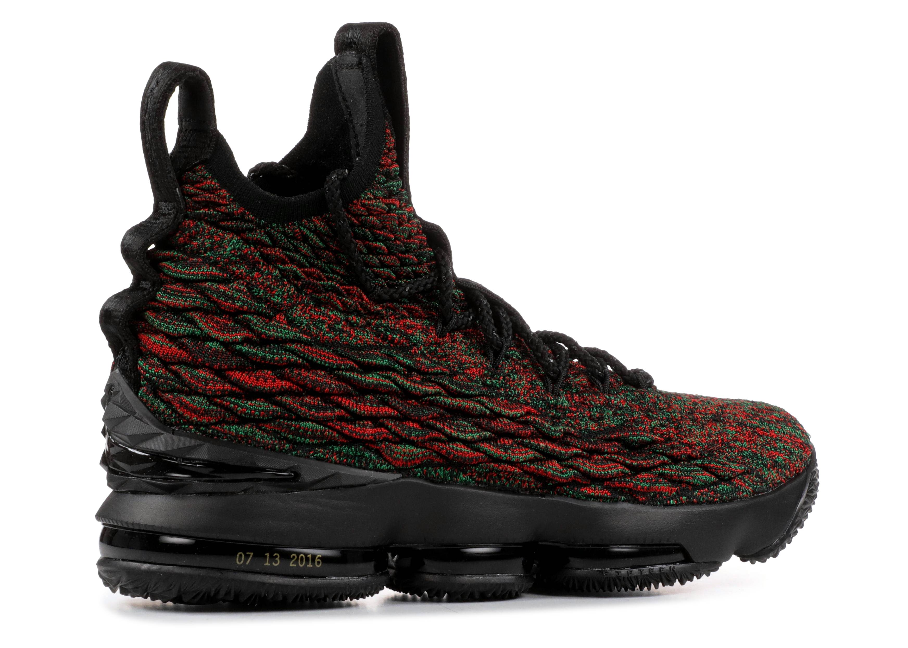 8eb440b4e31 Lebron 15 Lmtd - Nike - 897650 900 - multi-color black
