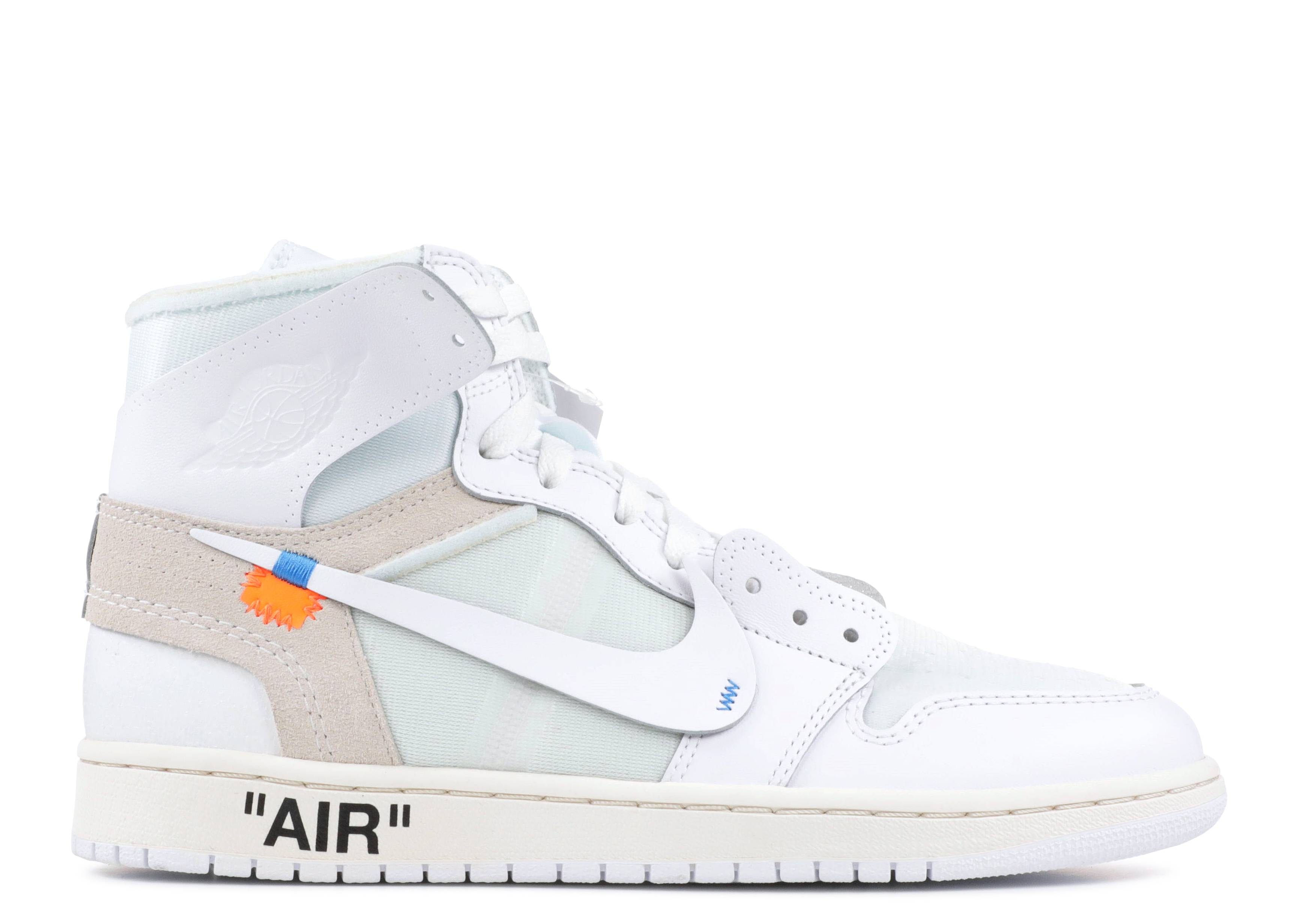 jordan air 1 x off white