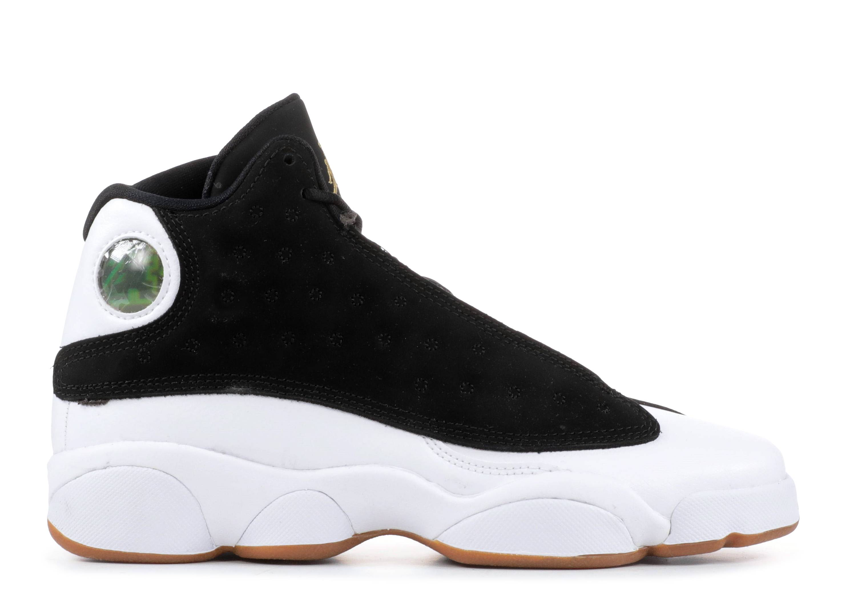 promo code 80946 76d91 Air Jordan Retro 13 Gg - Air Jordan - 439358 021 - black ...