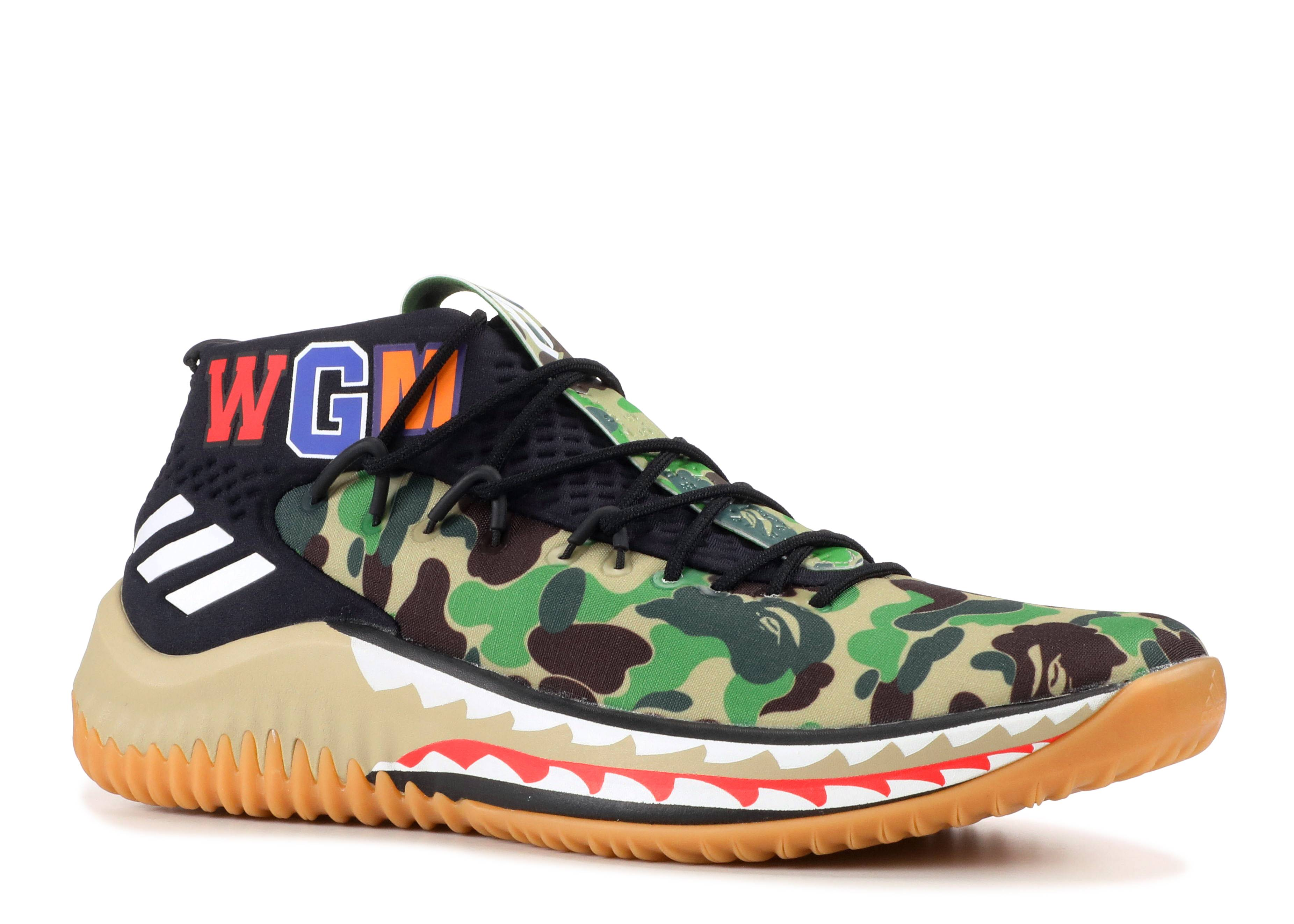 sports shoes 7c5a4 29d33 Dame 4 Bape