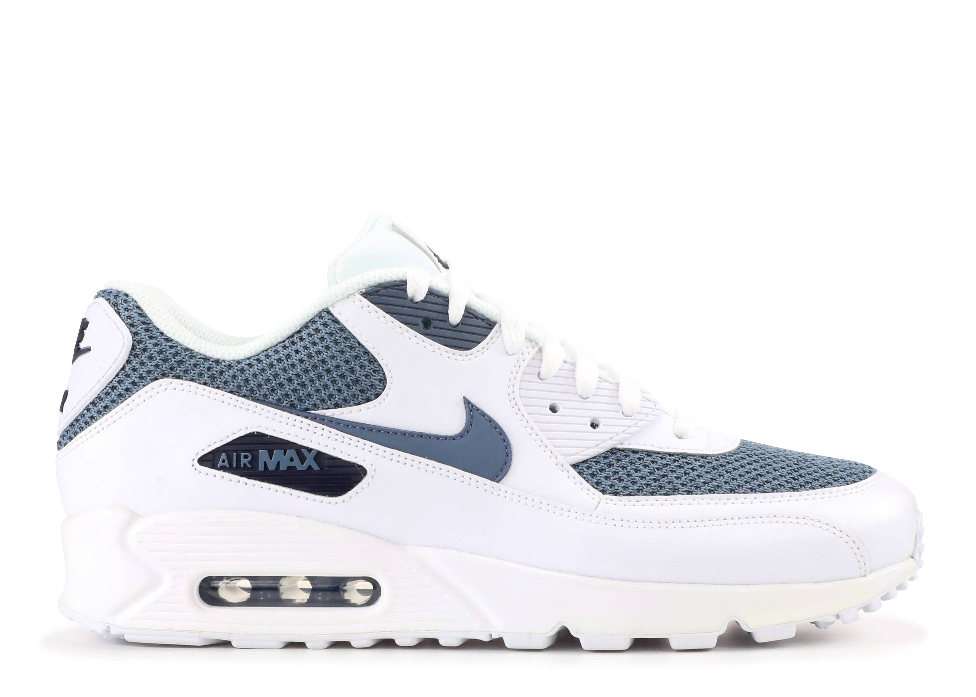 competitive price 8d027 7e6f8 NIKE AIR MAX 90 ESSENTIAL - Nike - 537384 133 - whitearmory blue-armory  blue  Flight Club
