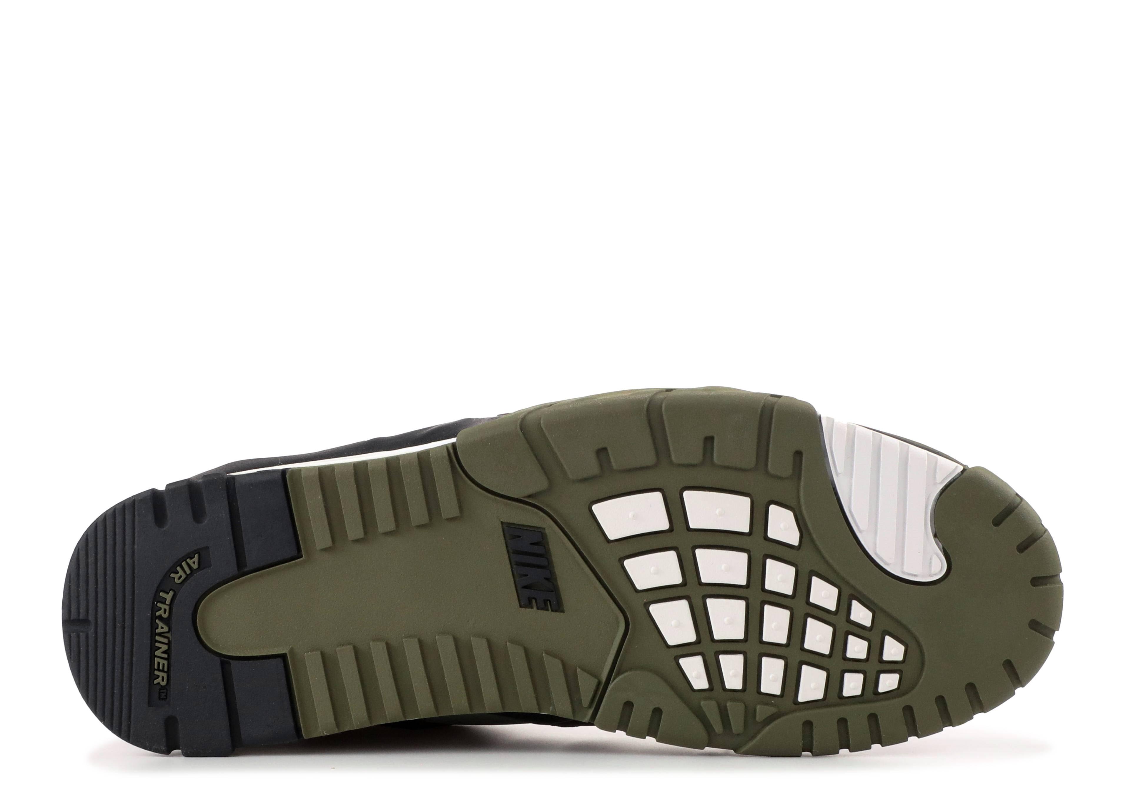 f4e5df9a49237 Air Trainer 3 - Nike - 705426 300 - jade stone/mdm olive-blk-white ...