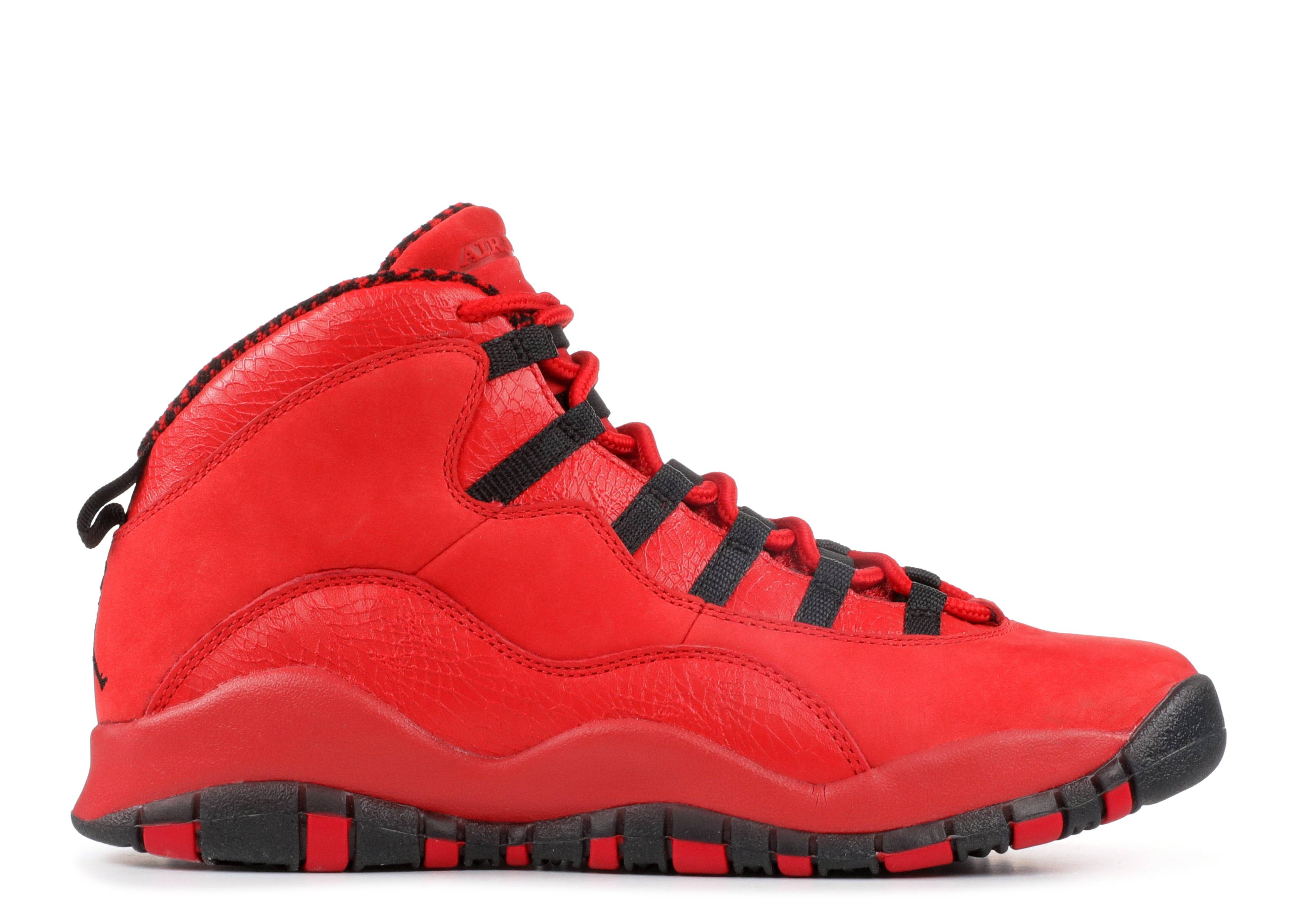 "air jordan 10 retro hoh bg (gs) ""steve wiebe"""