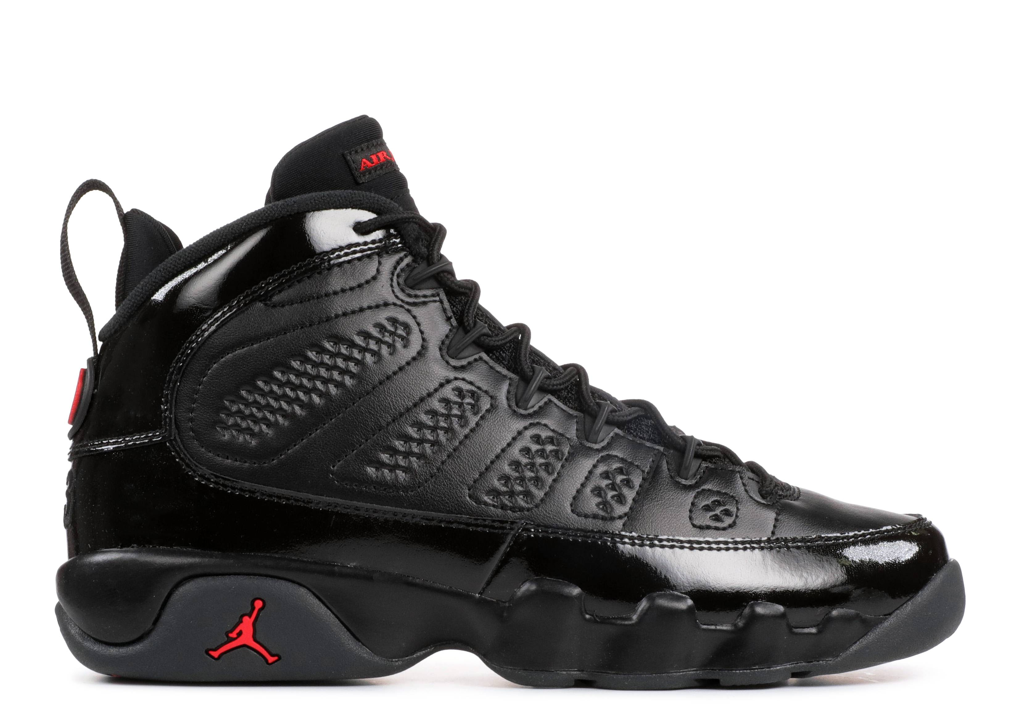 "air jordan 9 retro bg (gs) ""bred"""