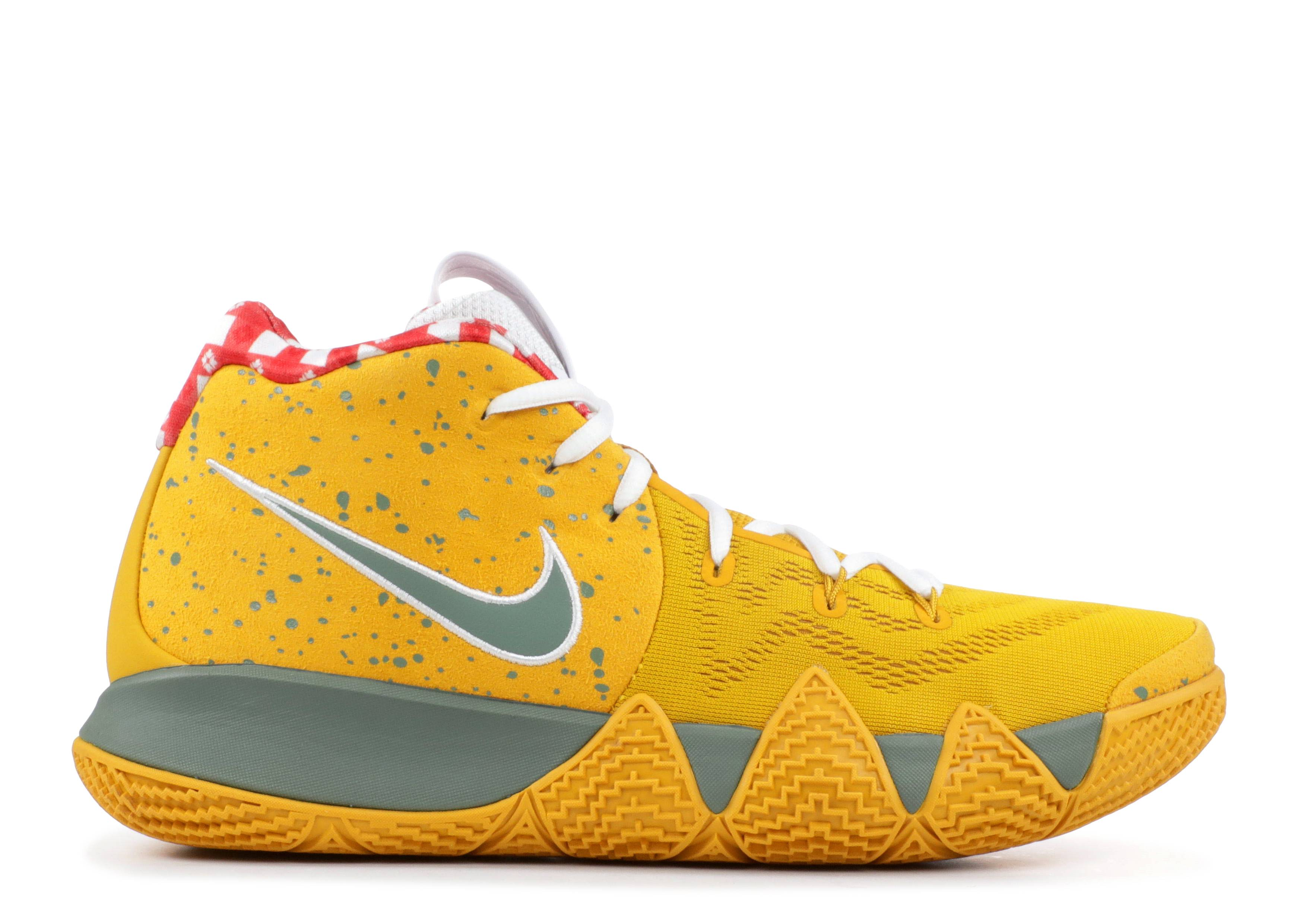 "kyrie 4 tv pe 11 ""yellow lobster"""