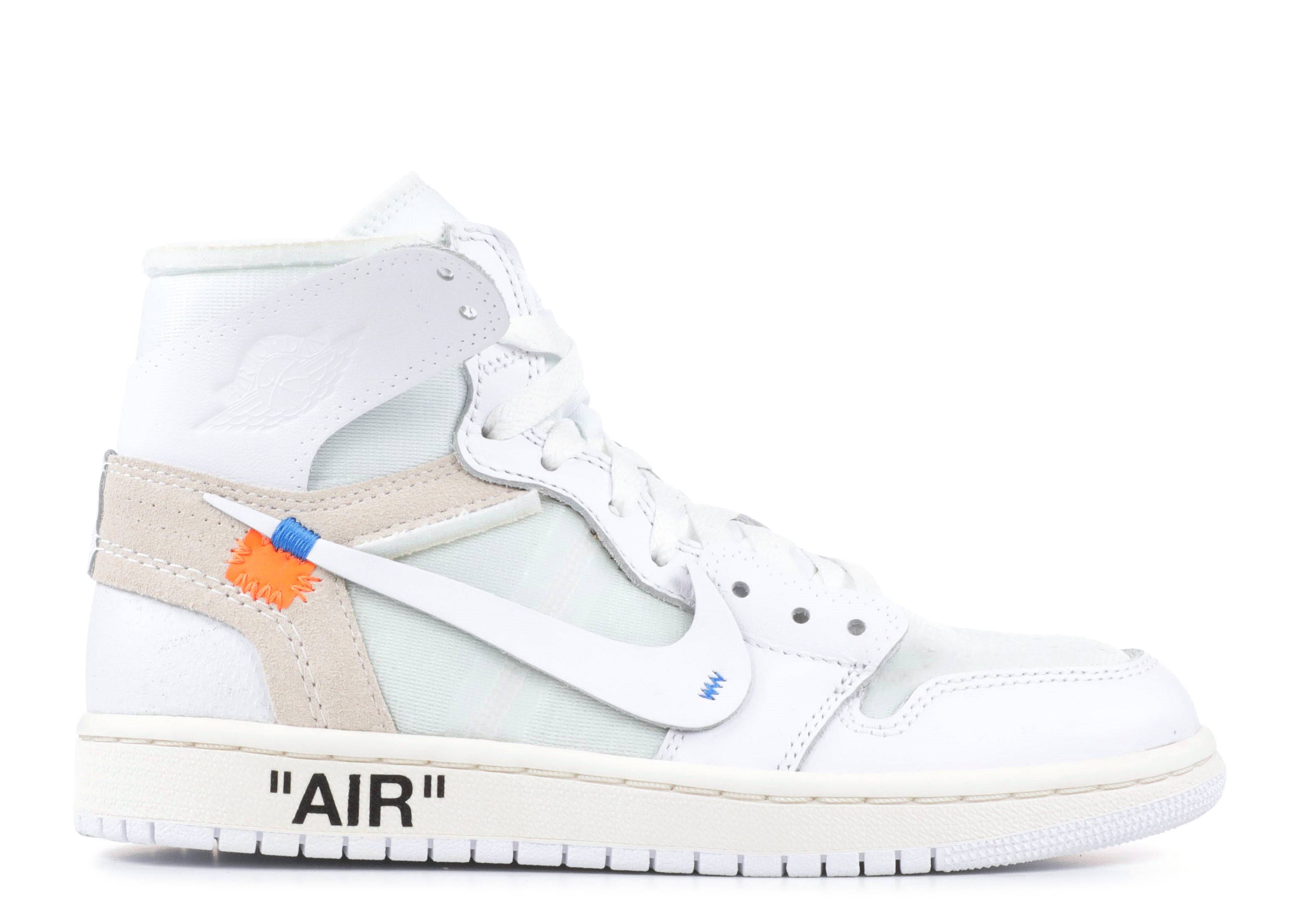 air jordan 1 por off white