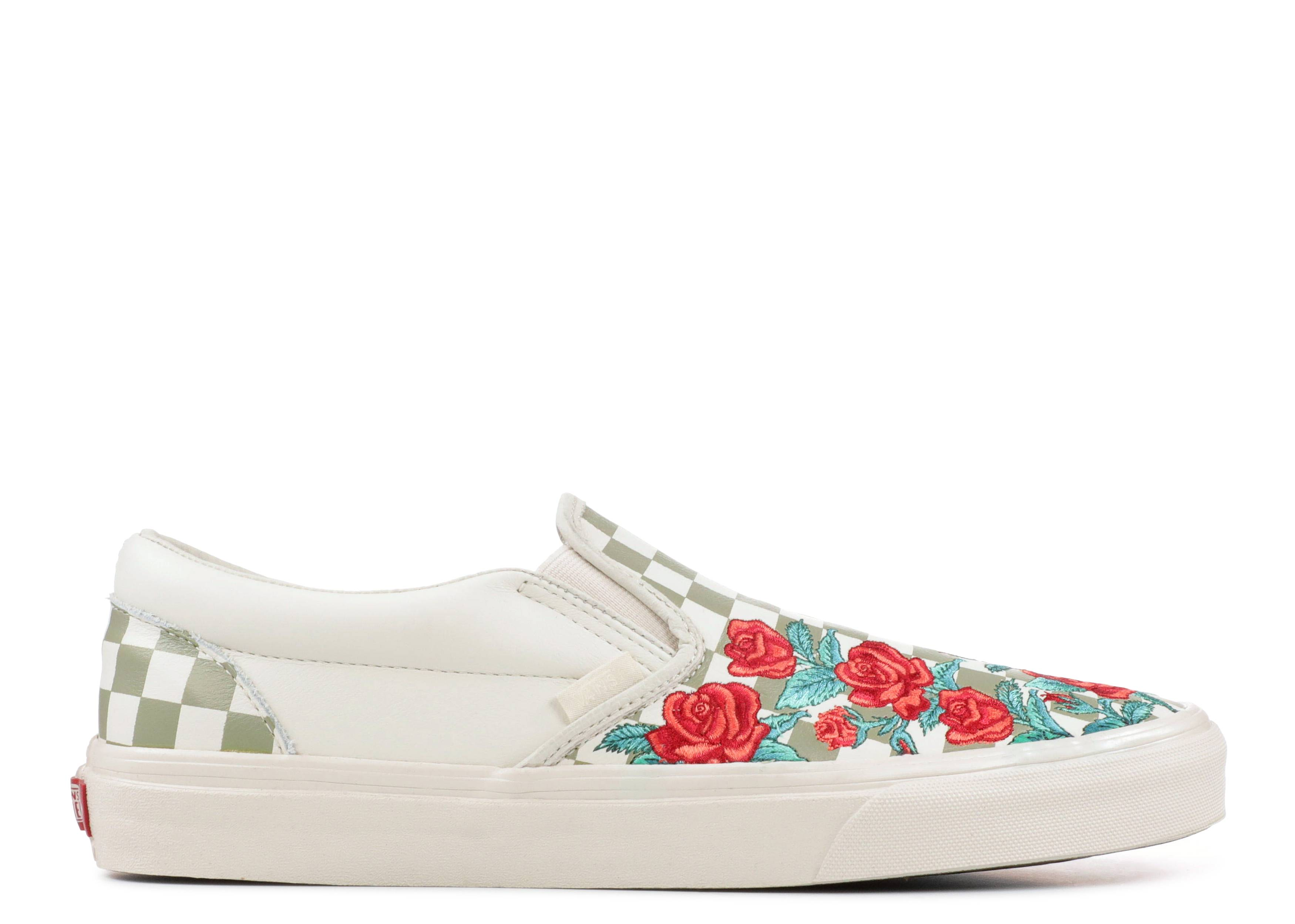 "Classic Slip-On DX ""ROSE EMBROIDERY"""