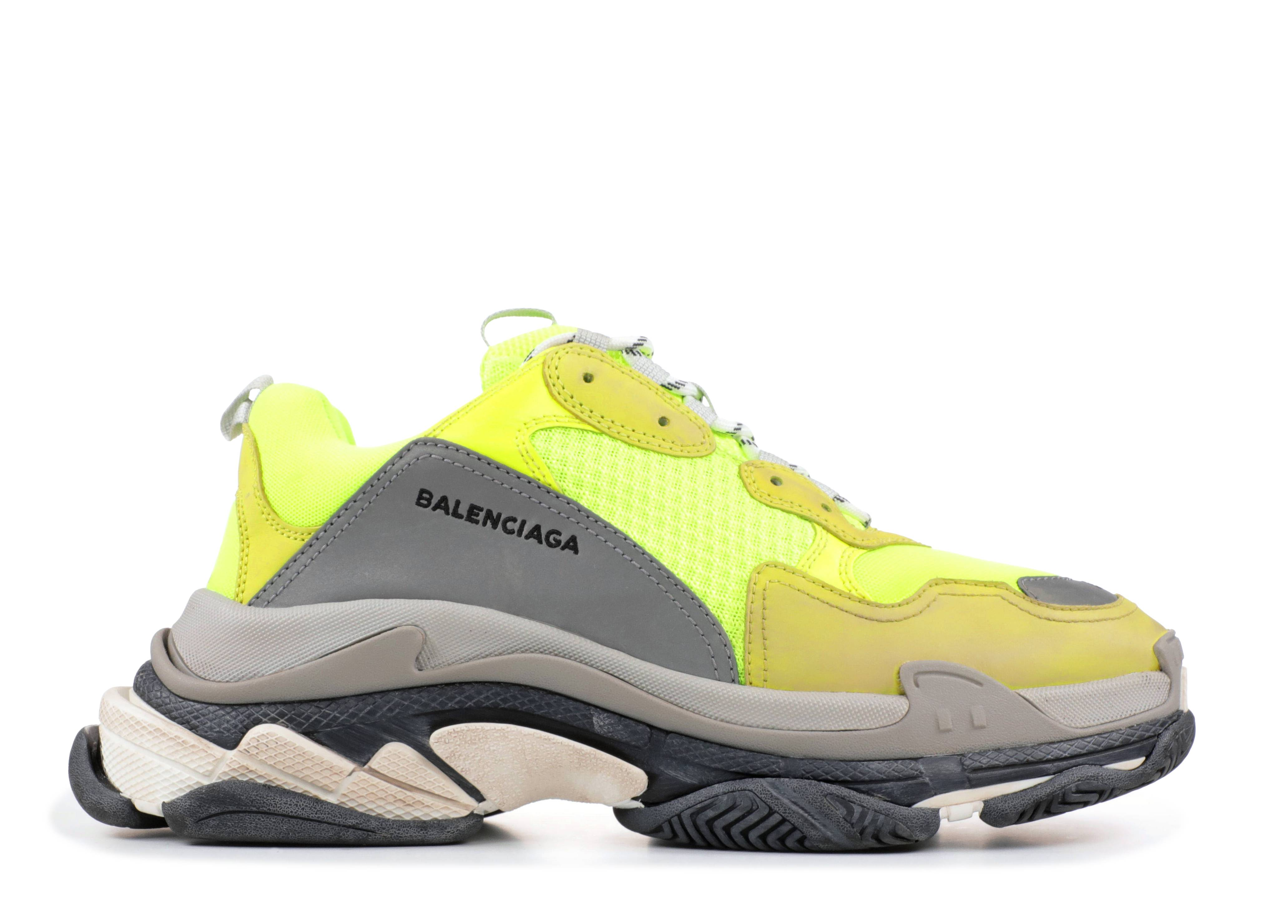 "Triple S ""Yellow"""