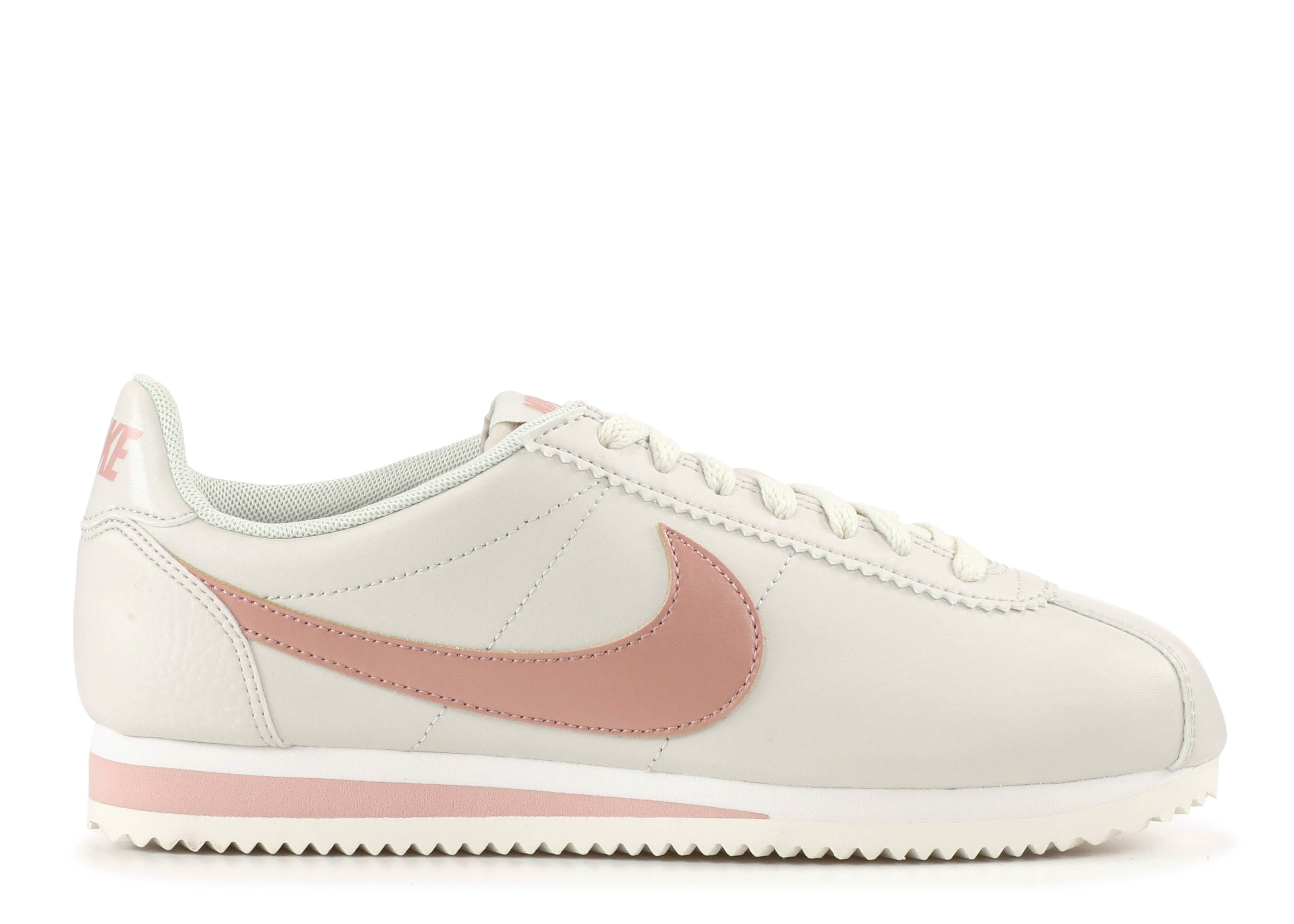 f05a37ae2 Wmns Classic Cortez Leather - Nike - 807471 013 - light bone particle pink