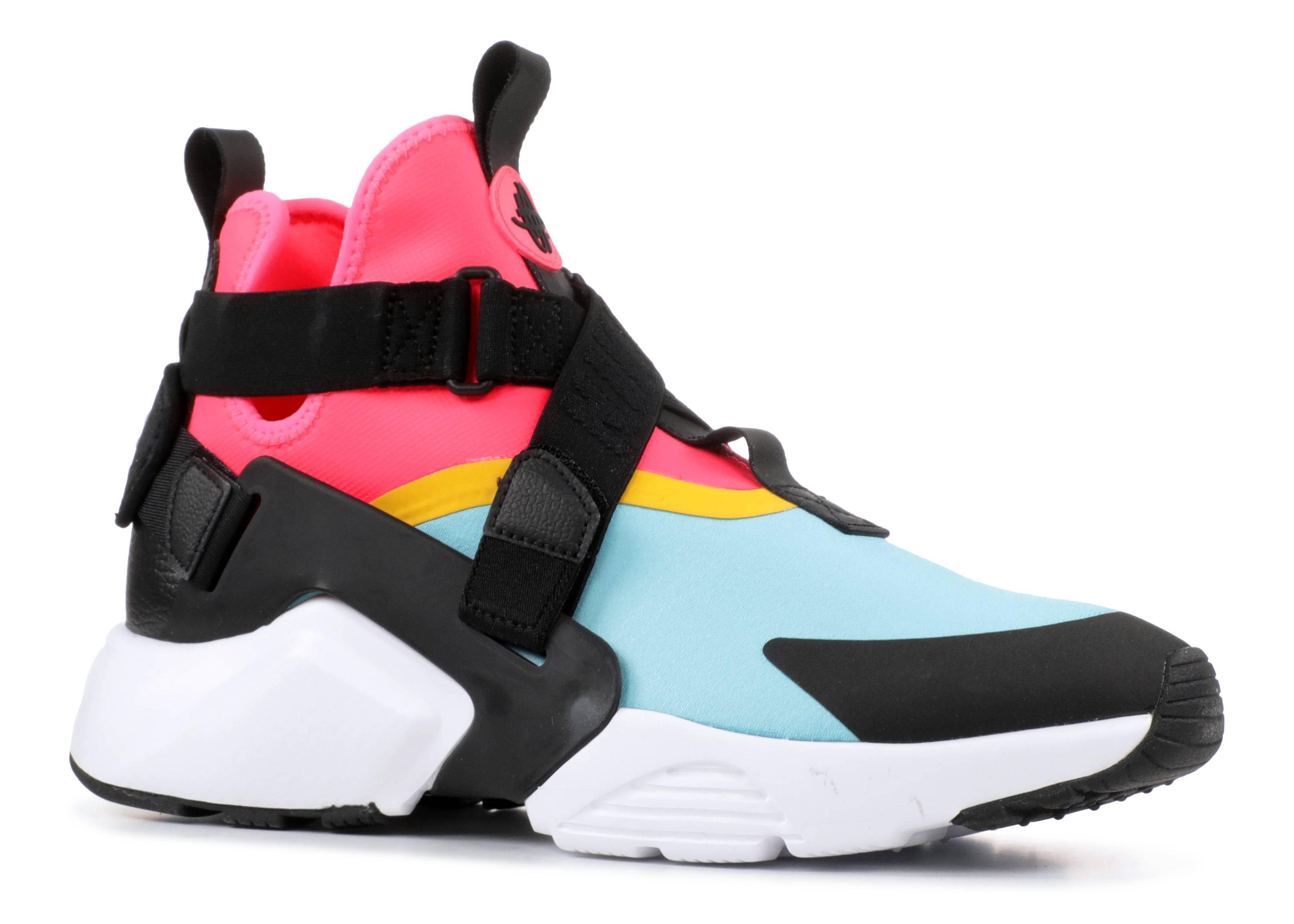 5979680ed4d W Nike Air Huarache City - Nike - ah6787 400 - bleached aqua black-racer  pink