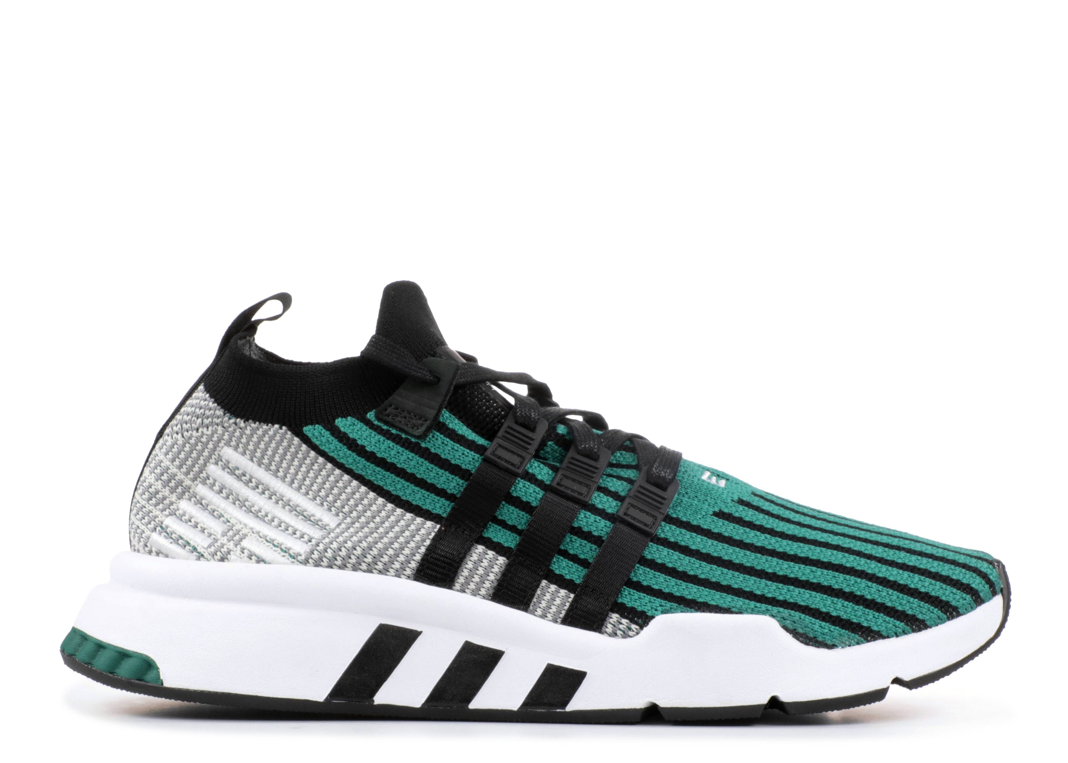 "eQT Support ADV Mid pk ""Black Sub Green"""