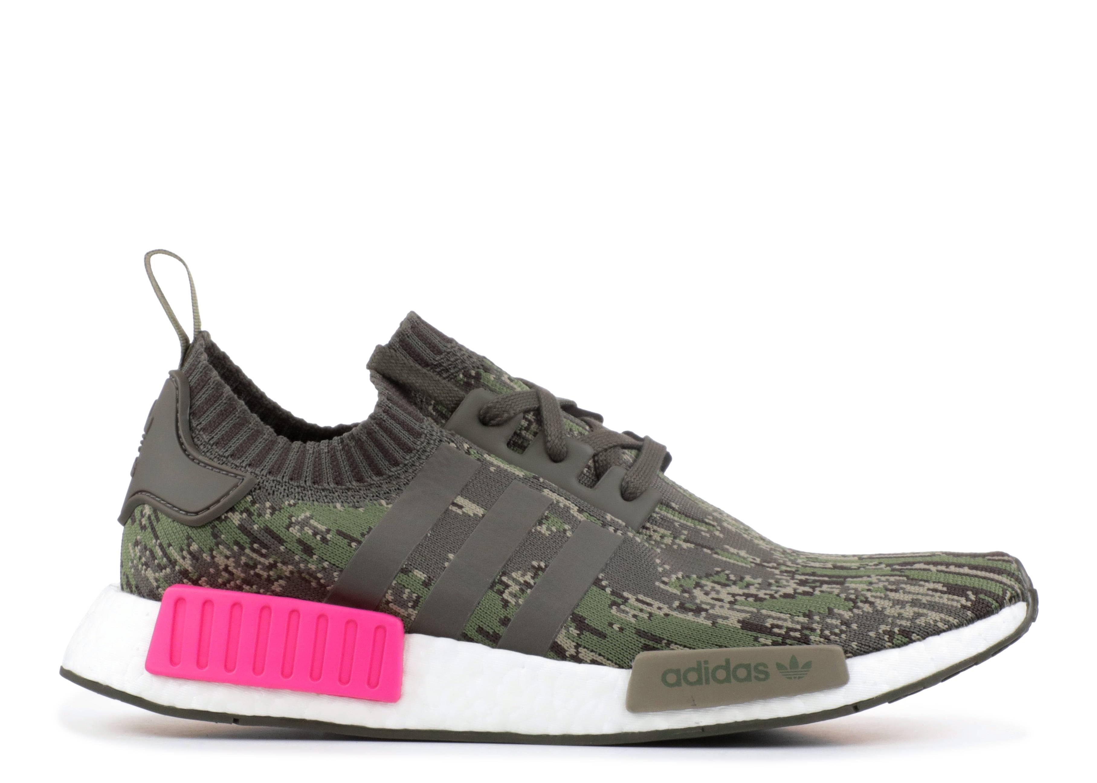 9bb2ab421e182 Nmd R1 Pk - Adidas - bz0222 - utility grey utility grey shock pink ...