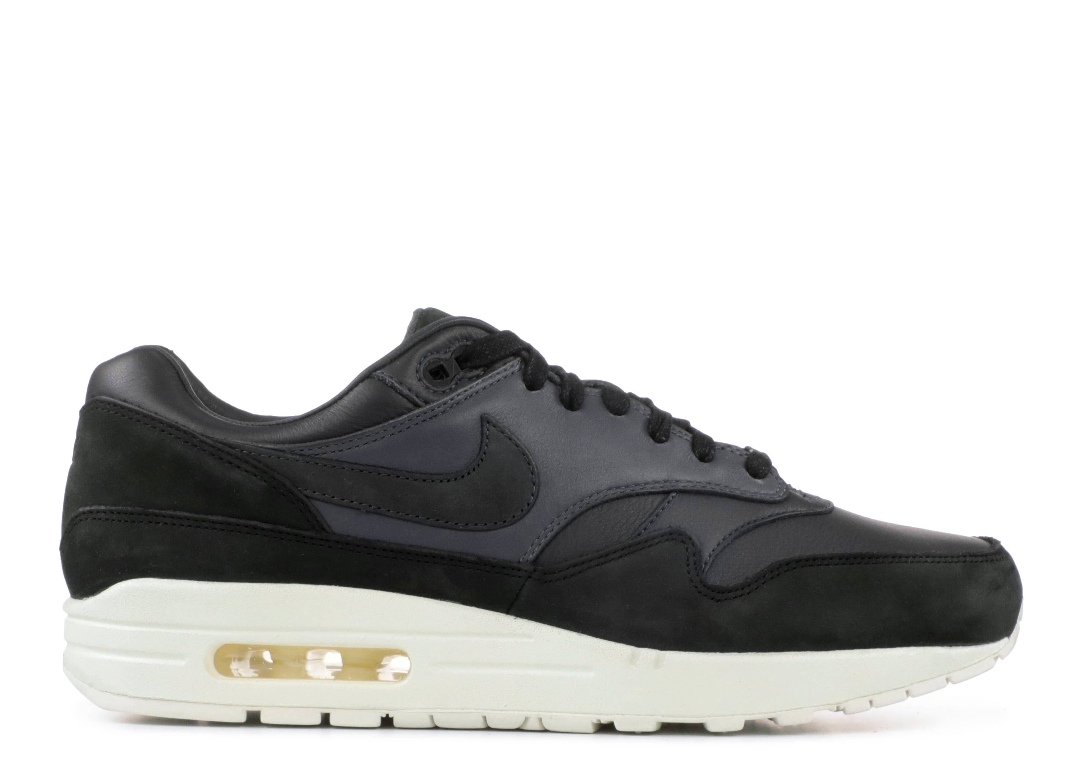 Nikelab Air Max 1 Pinnacle - Nike - 859554 004 - black anthracite ... 704be4806