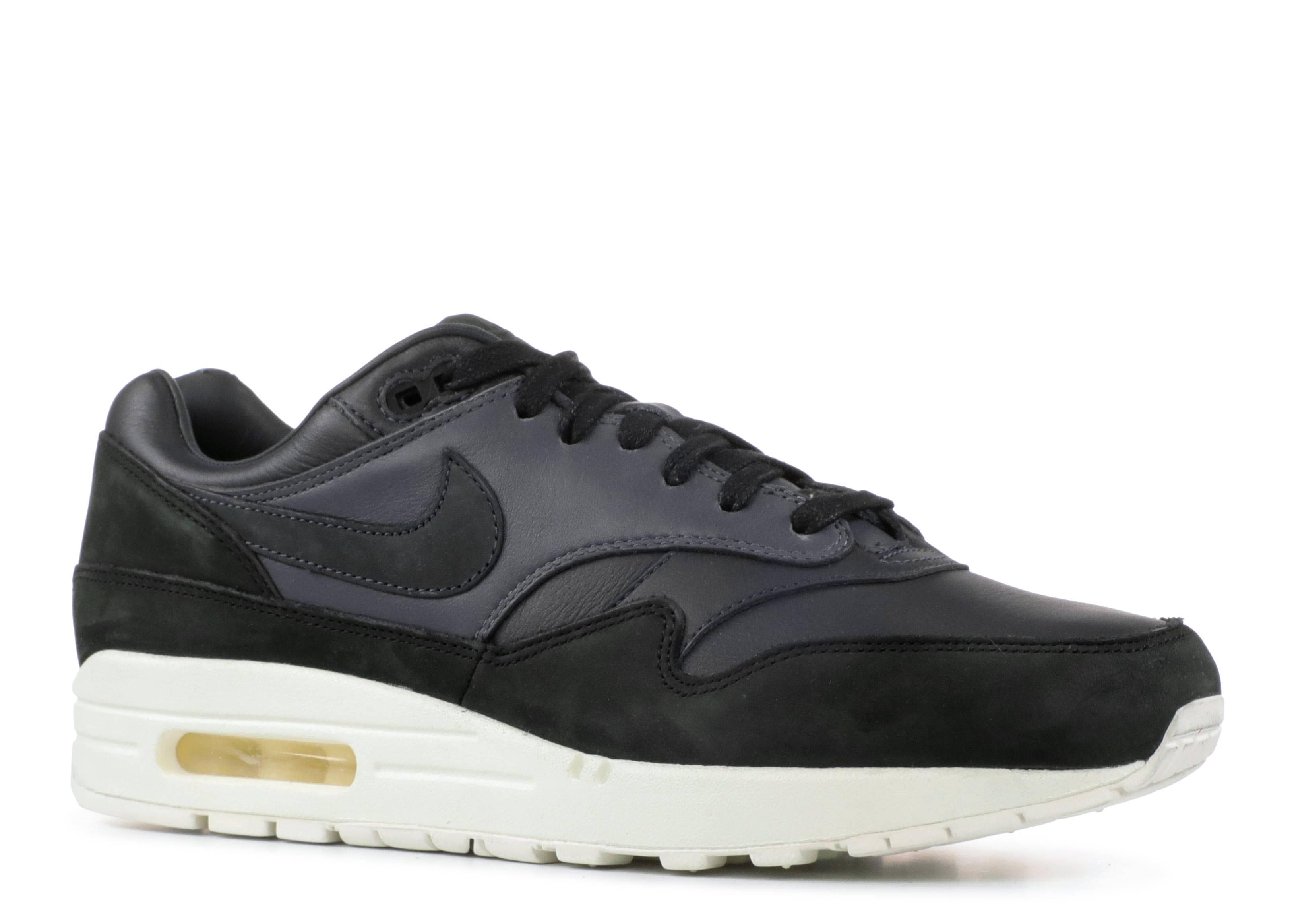 cheap for discount b5385 09b40 Nikelab Air Max 1 Pinnacle - Nike - 859554 004 - black anthracite-dark grey    Flight Club