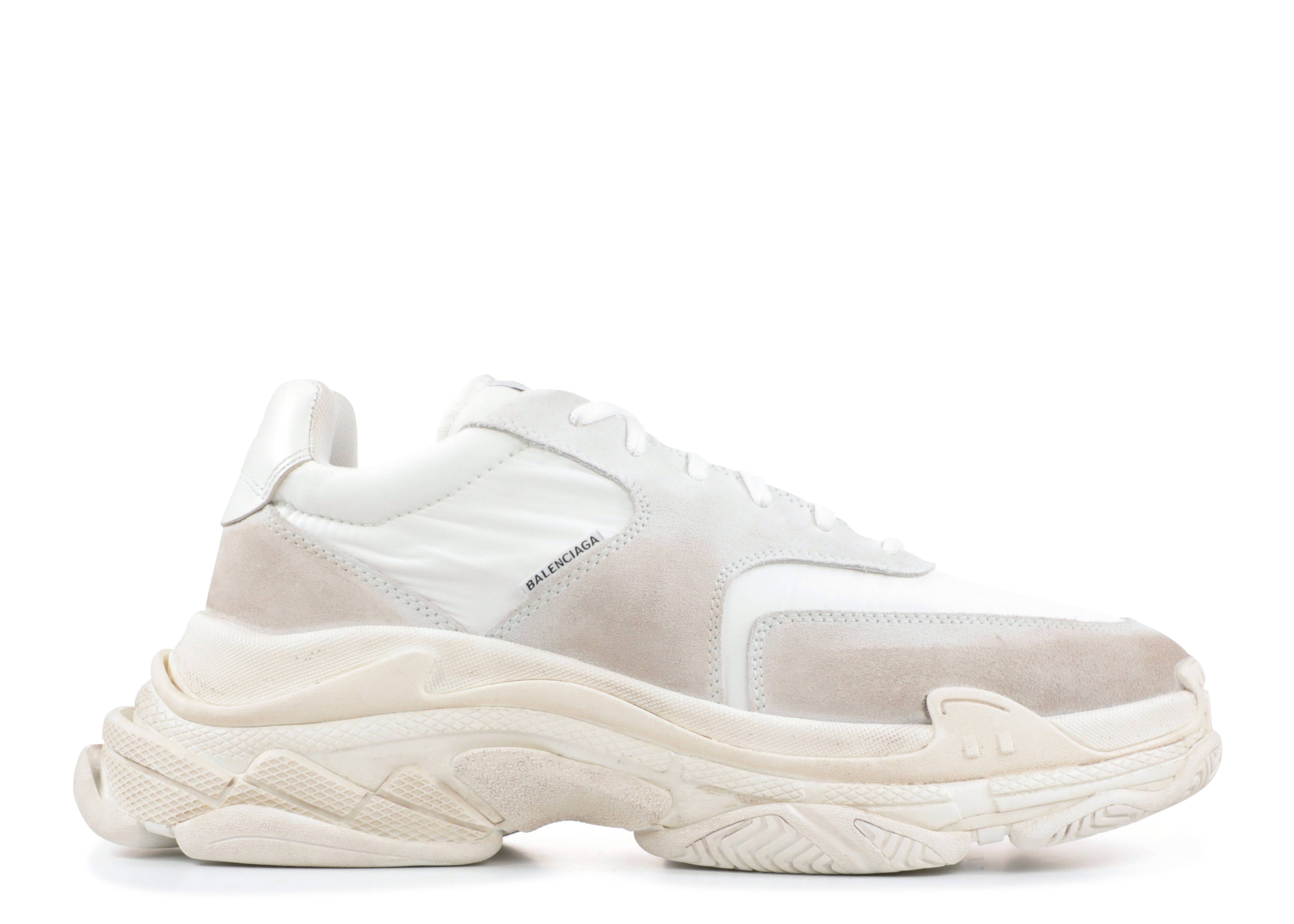"triple s  ""Suede White"""
