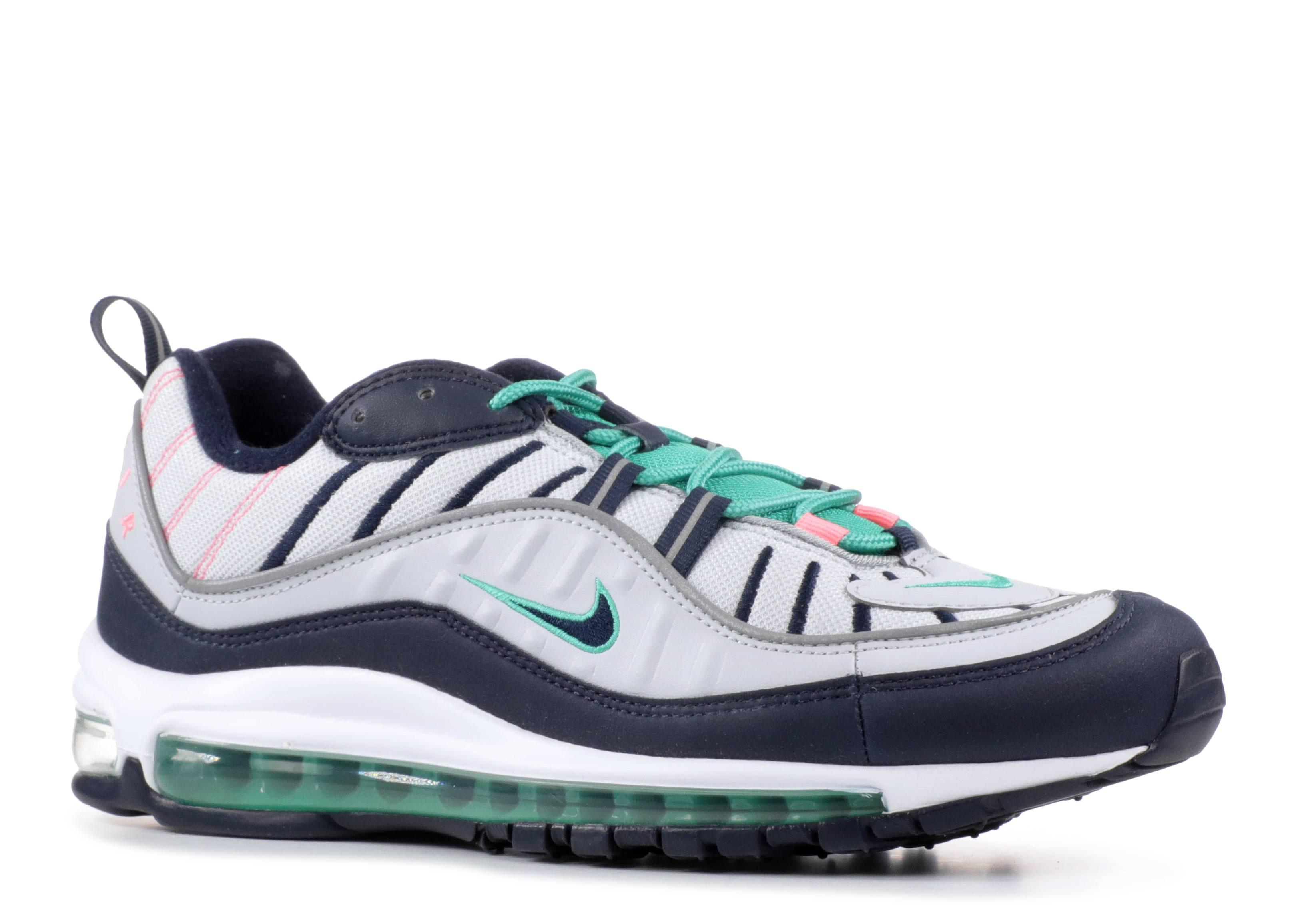 b8fd649d37 Nike Air Max 98 - Nike - 640744 005 - pure platinum/obsidian | Flight Club