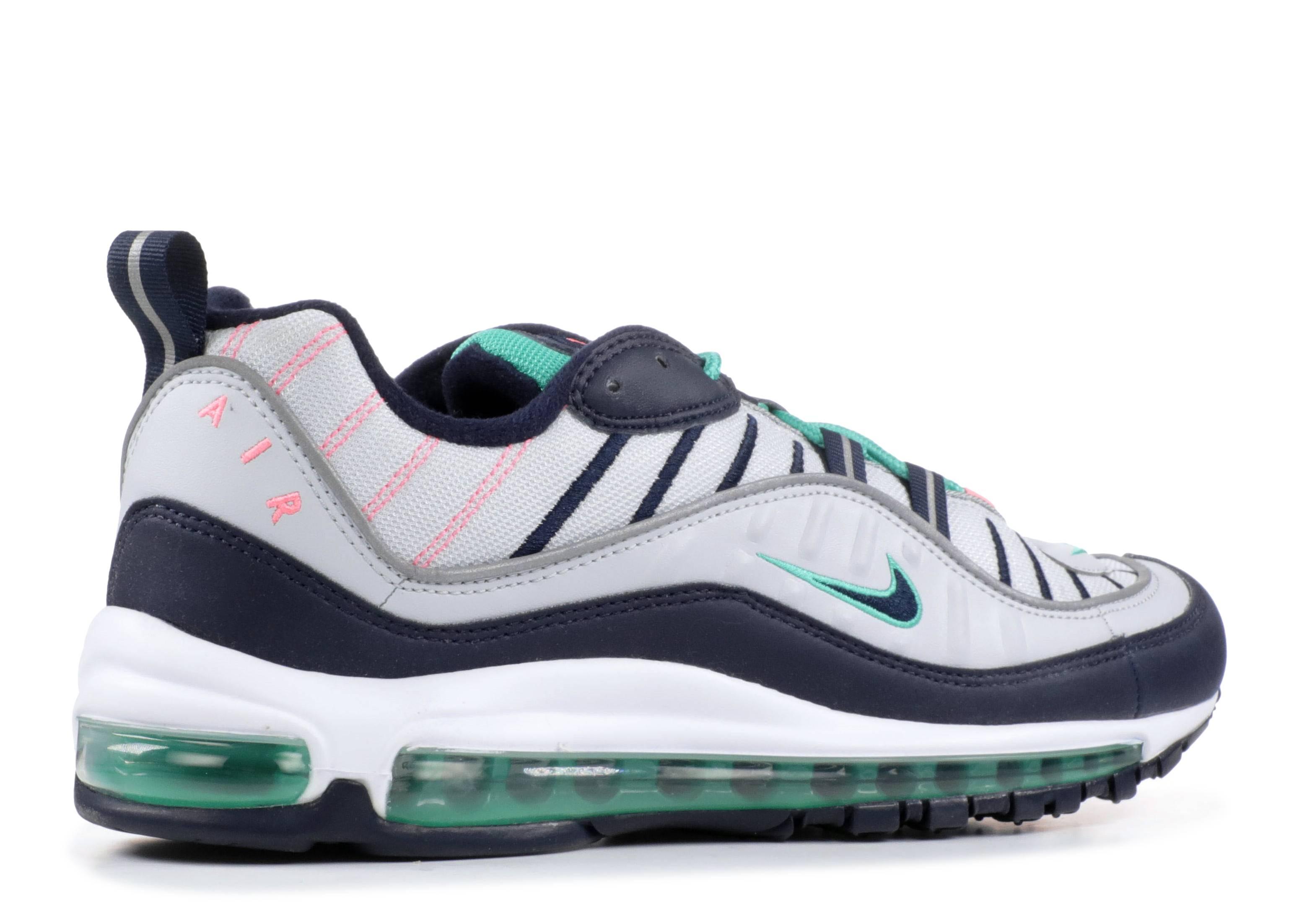 size 40 53689 12dff Nike Air Max 98 - Nike - 640744 005 - pure platinum obsidian   Flight Club