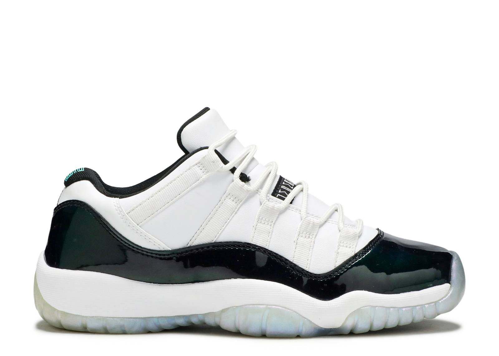"air jordan 11 retro low bg (gs) ""Emerald"""