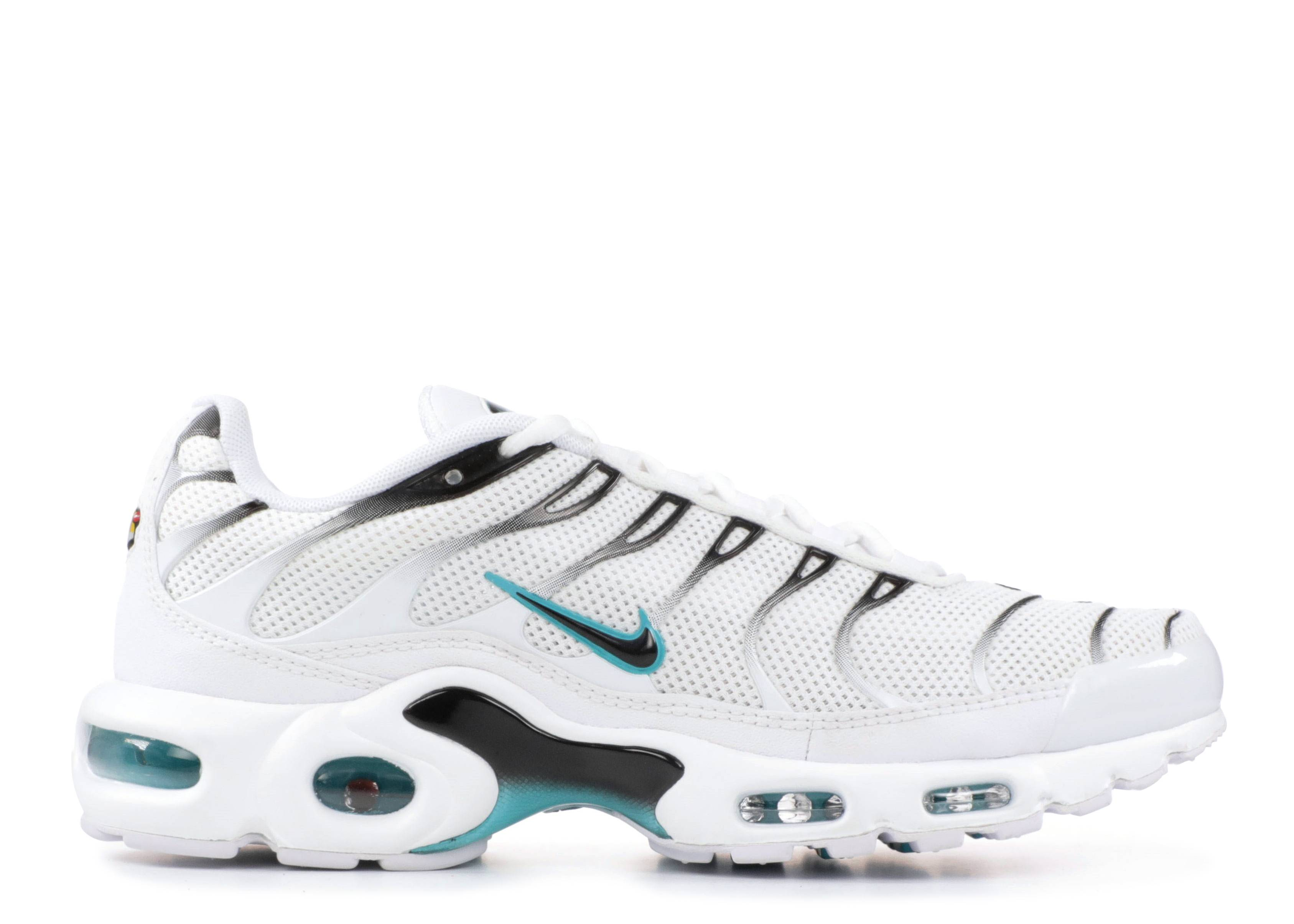 Nike Air Max Plus TN Tuned Running Shoes Black Gym Red White