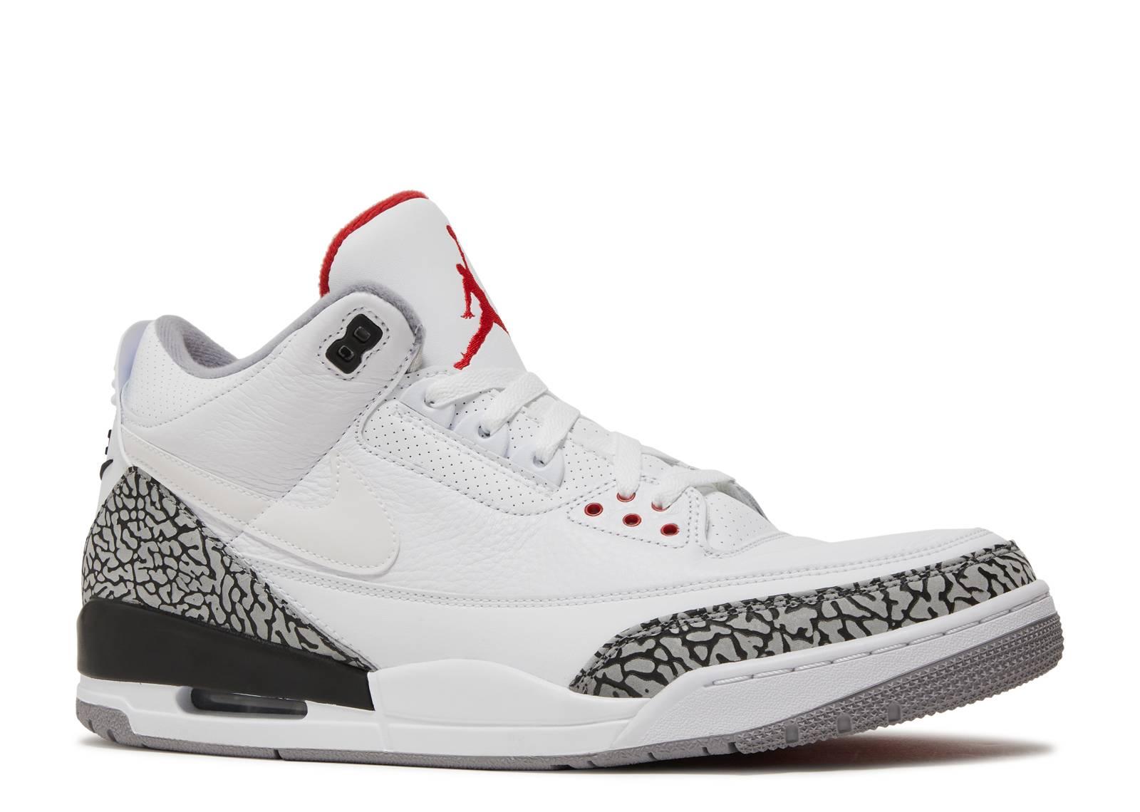 Air Jordan 3 Retro JTH NRG 'White Cement'