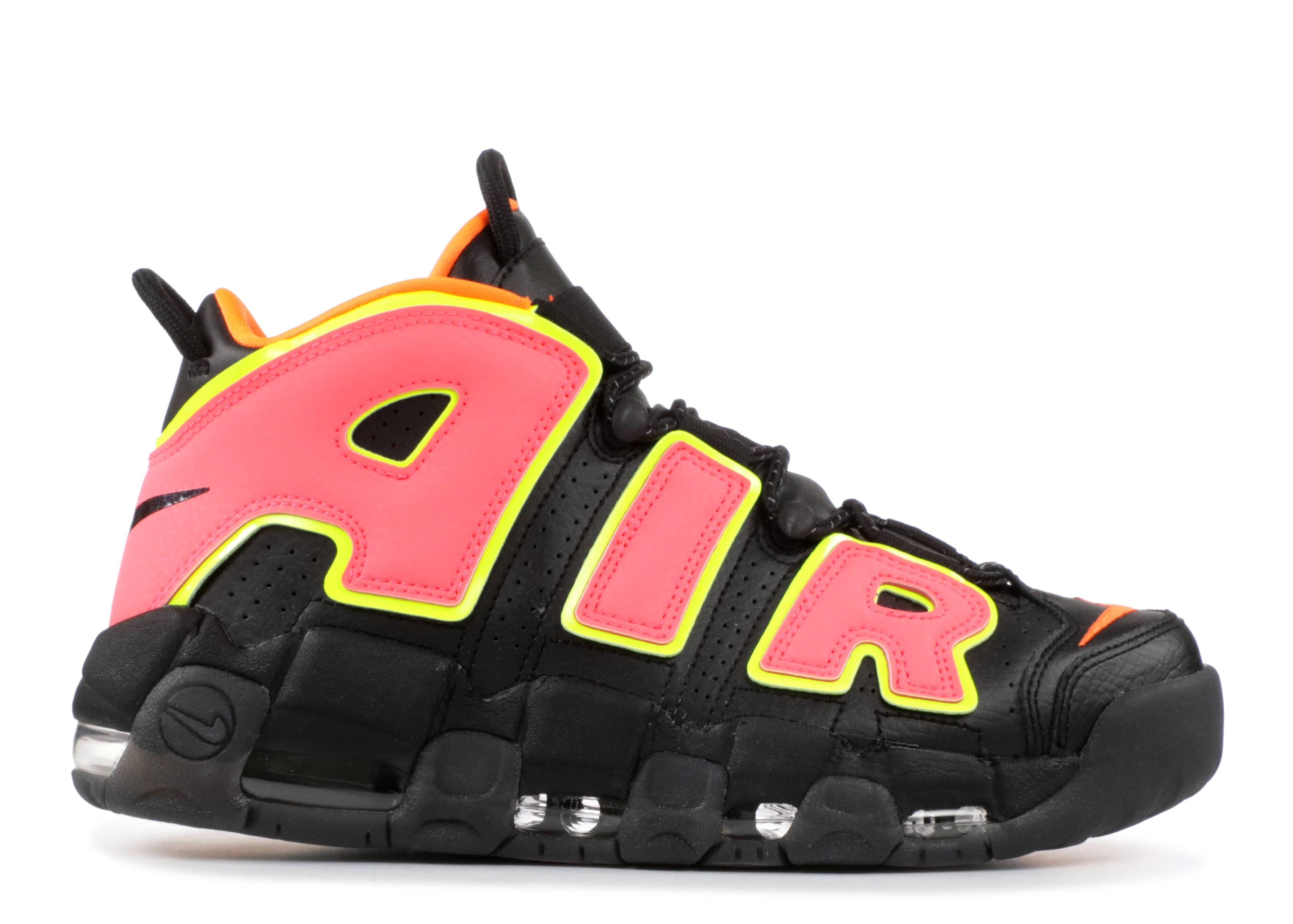 W Nike Air More Uptempo - Nike - 917593 002 - black hot pink pinch ... 34ce7ed5a