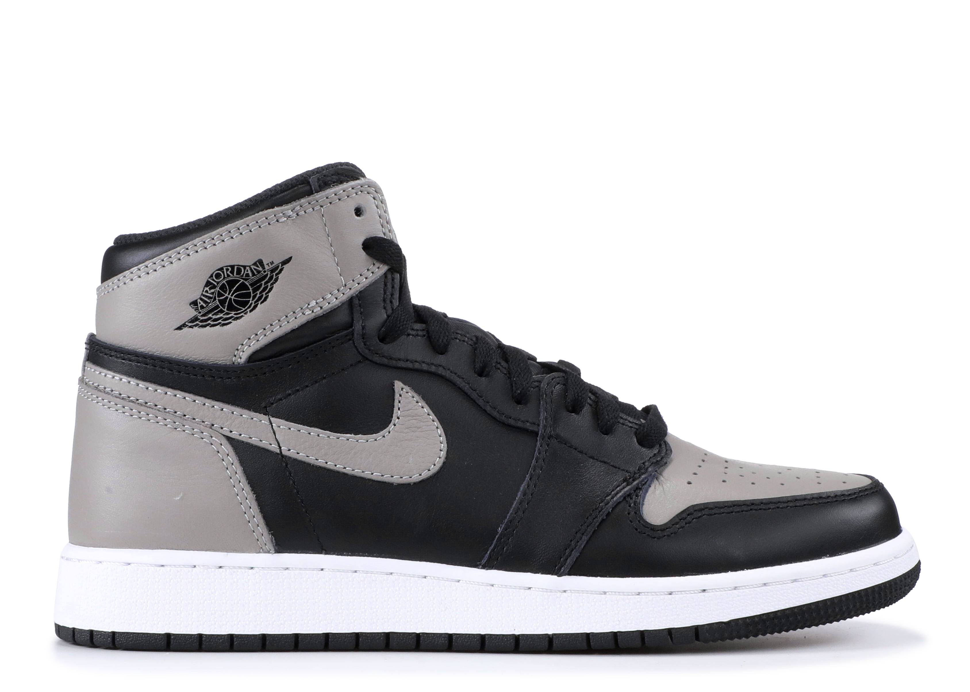 "Air Jordan 1 Retro High OG (BG) ""shadow"""