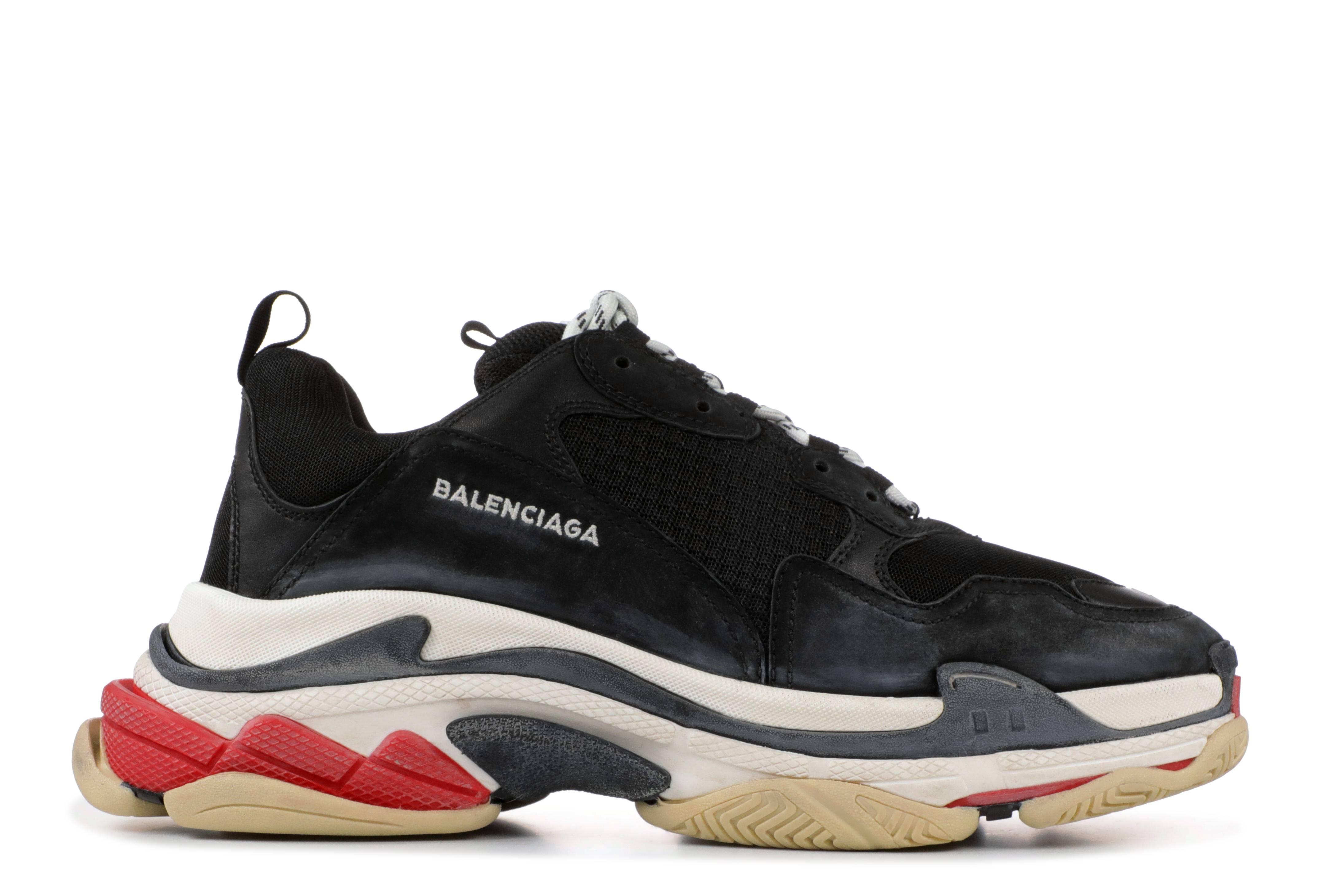 67ce48ce6f6a2 Balenciaga Sneakers - Triple S Low Tops