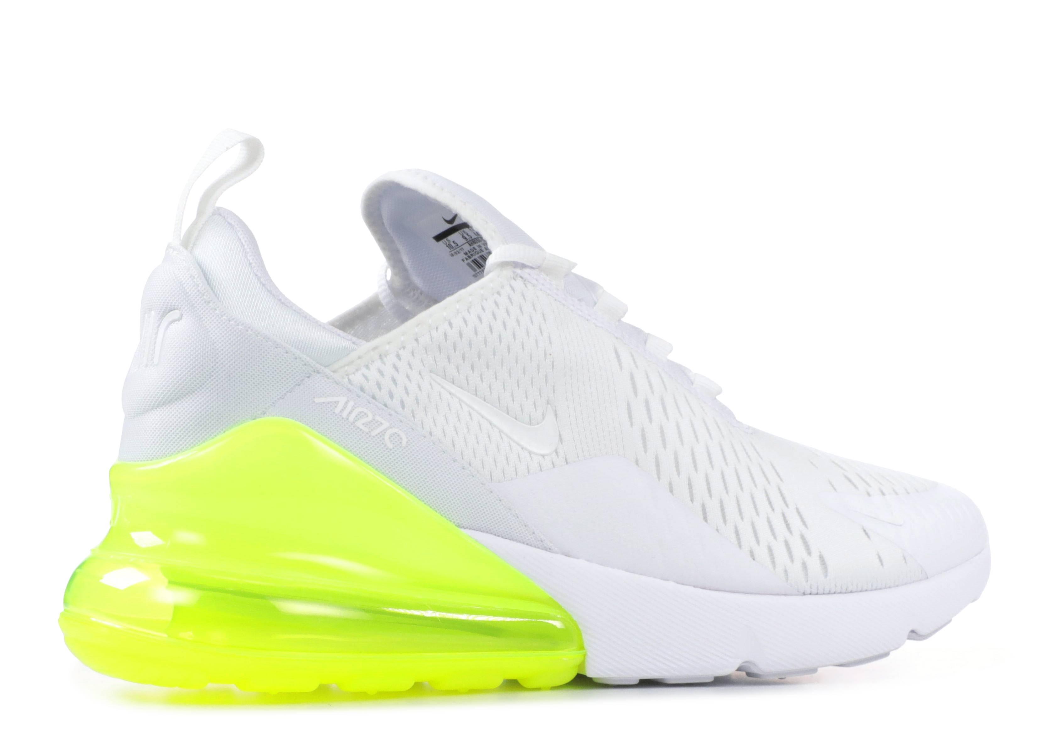 free shipping a109b 58c5c Air Max 270 - Nike - ah8050 104 - white white volt   Flight Club