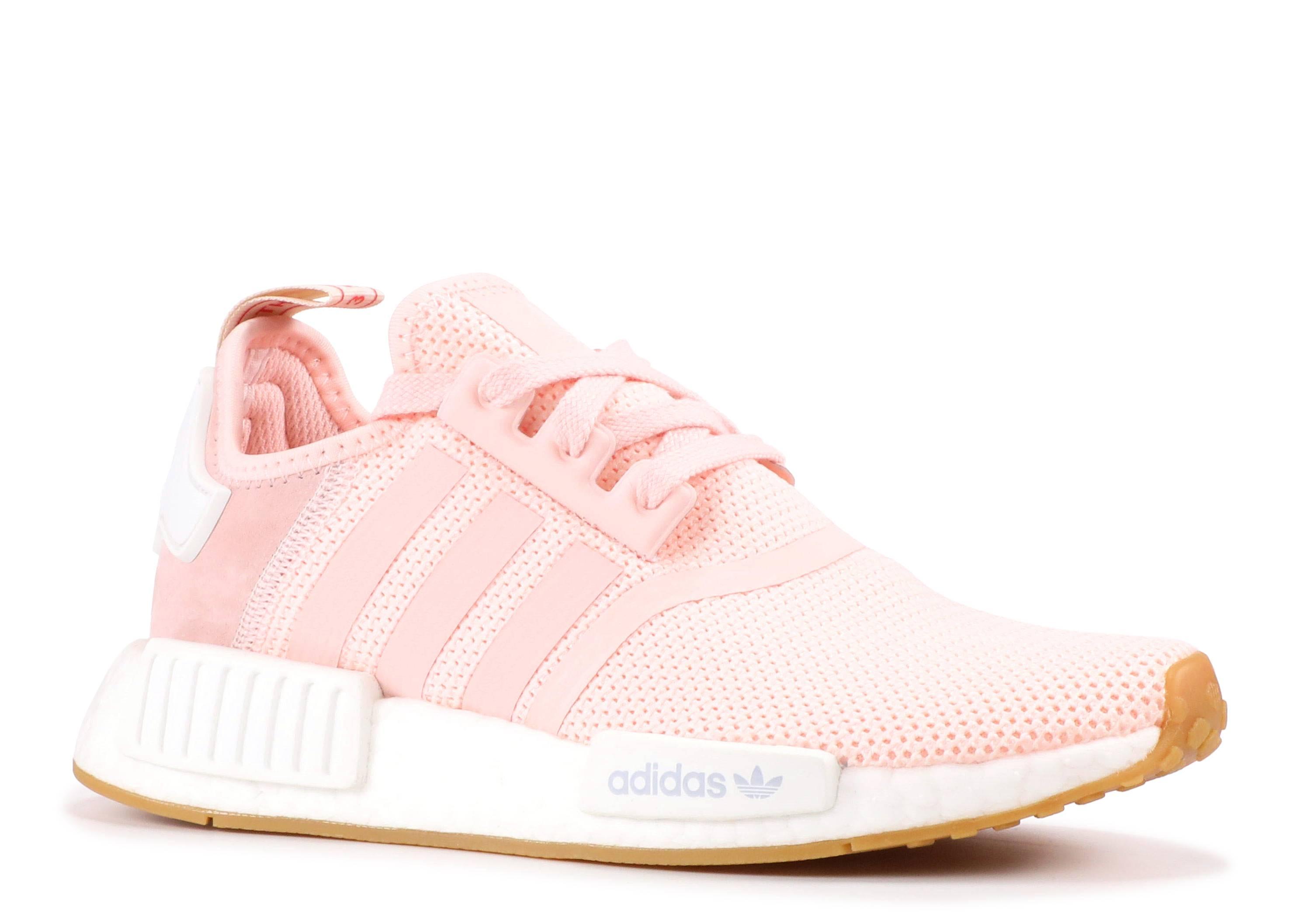 56ebb3b32df Nmd R1 W - Adidas - bb7588 - pink white gum