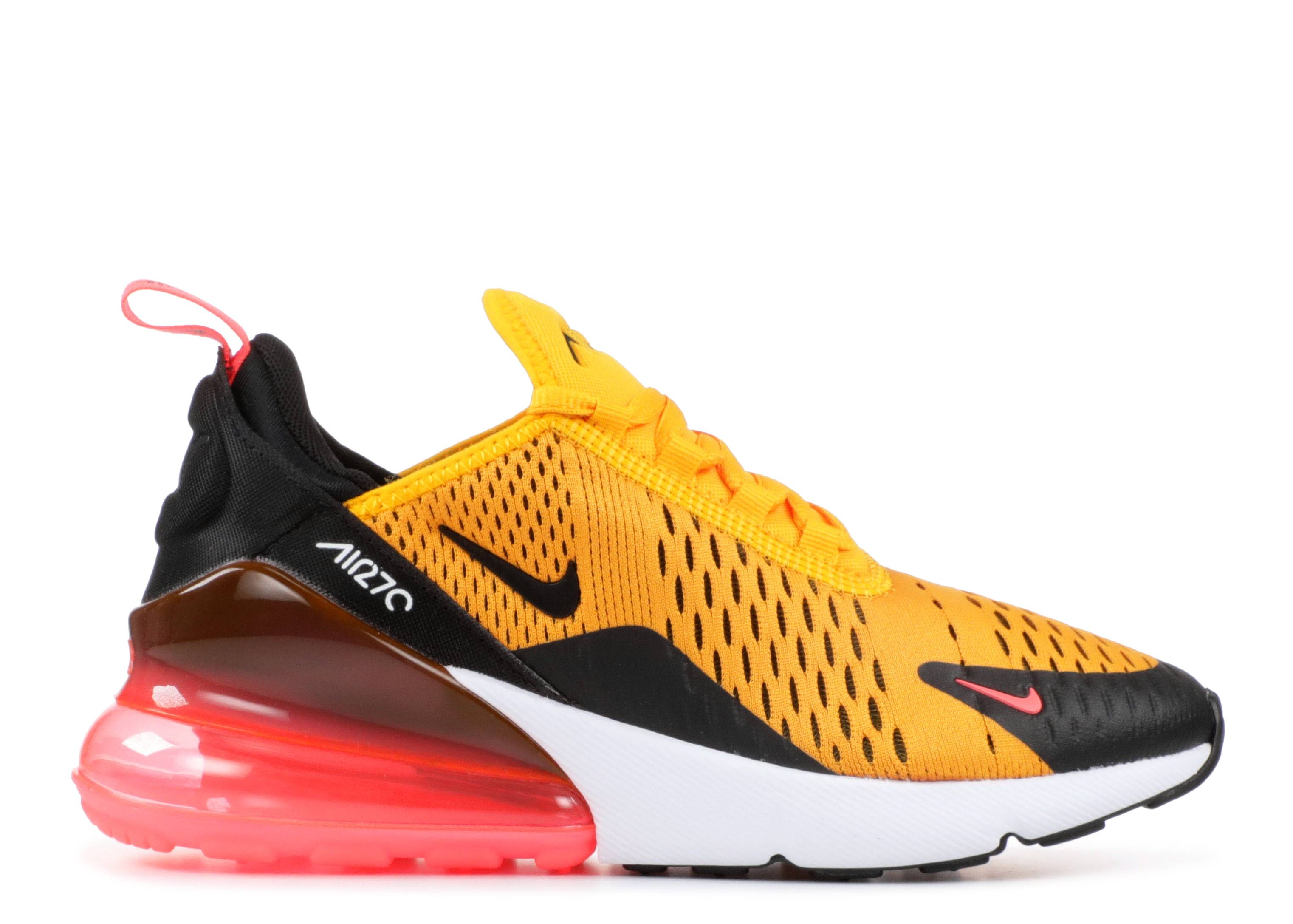 "nike air max 270 (gs) ""University Gold"""