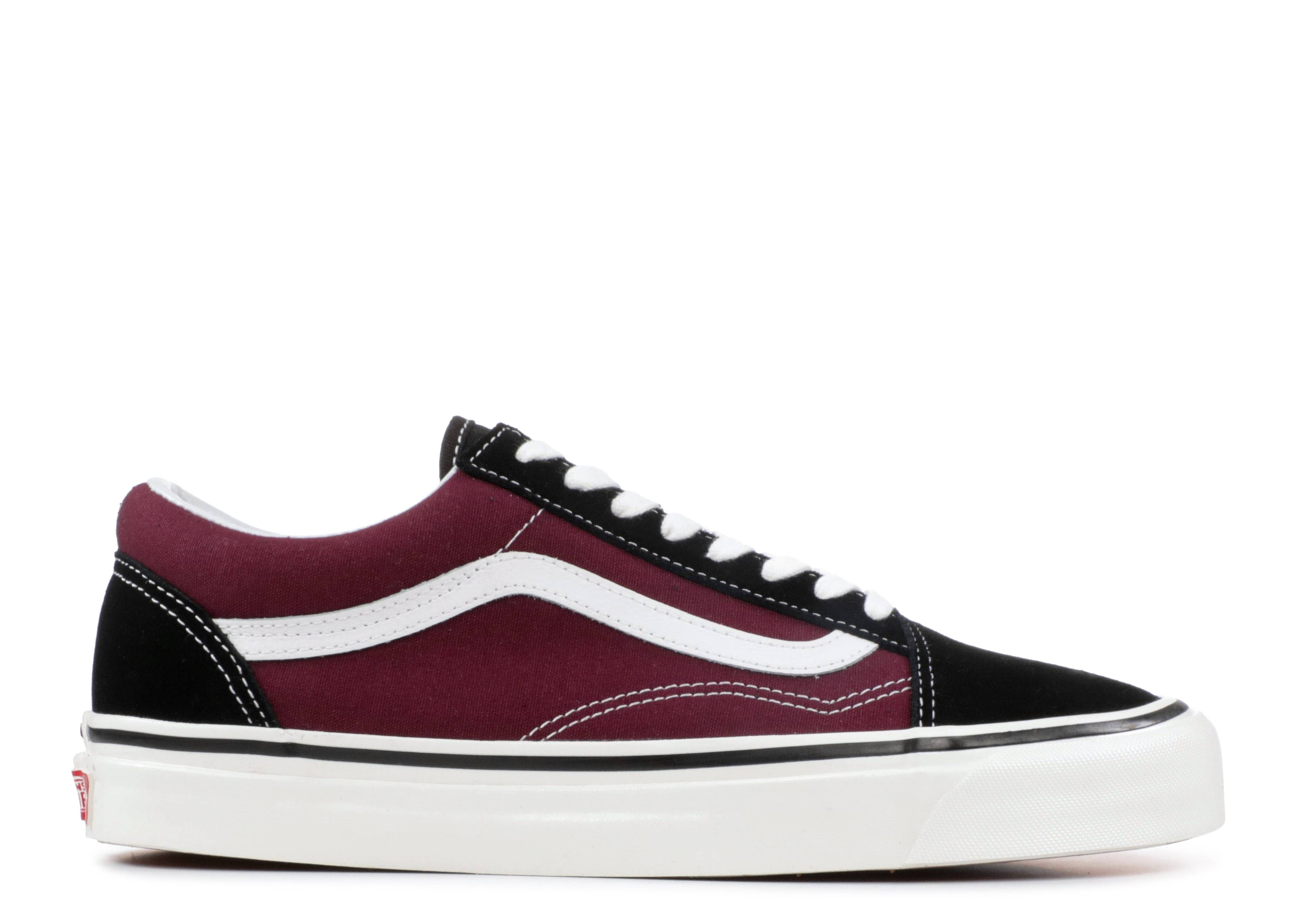 68de9e8195 Old Skool 36 DX - Vans - VN0A38G2R1U - black og burgundy