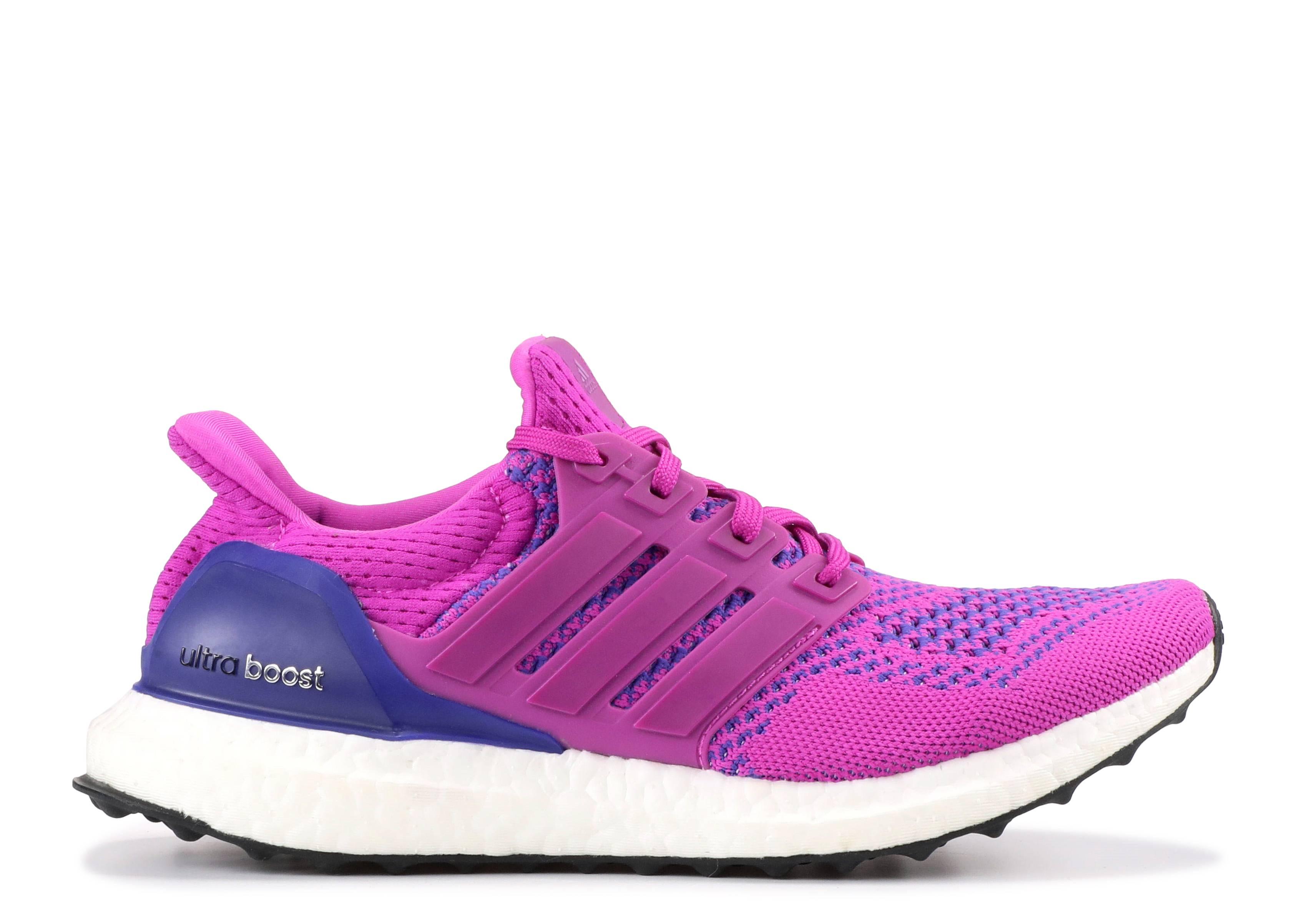 adidas ultra boost women's shoes flash pink/night flash