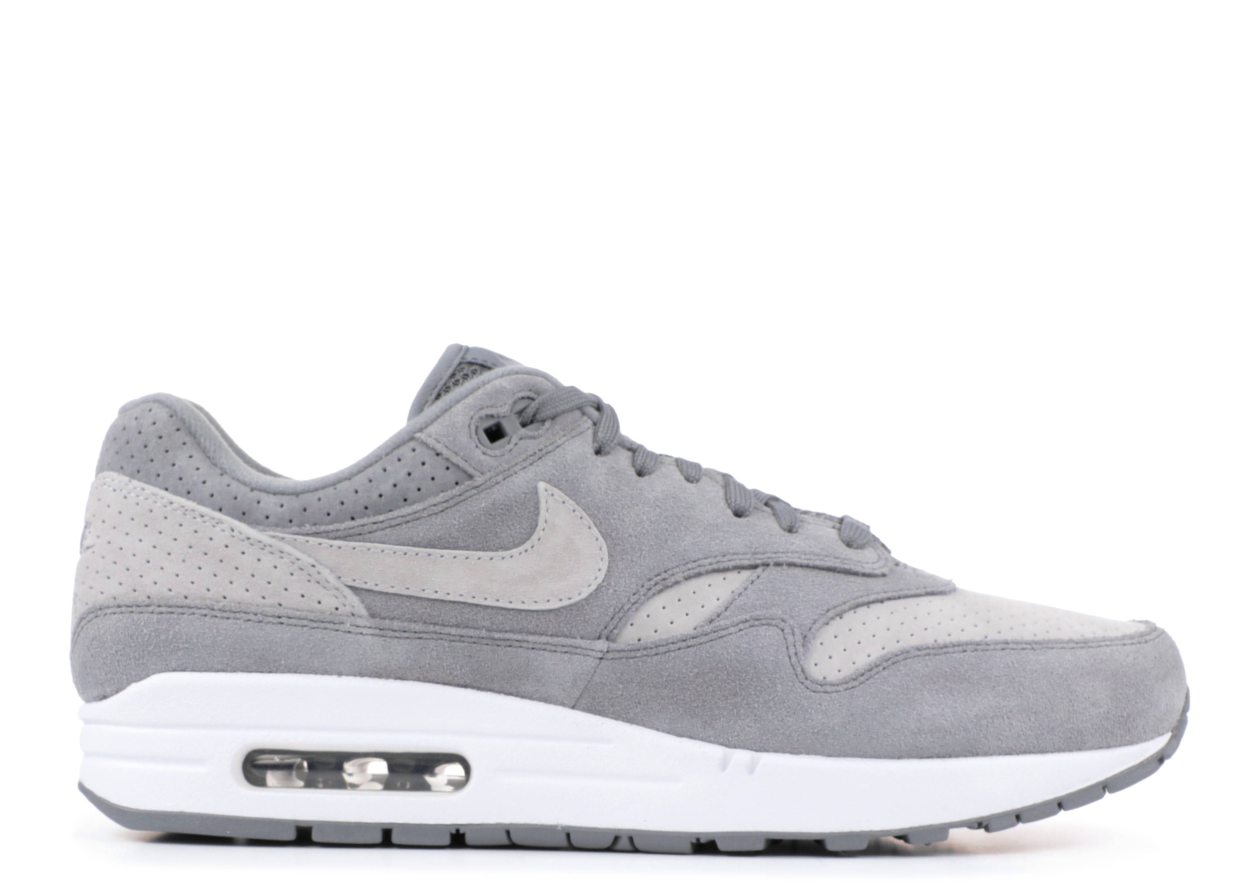 "nike air max 1 premium  ""Perforated Grey"""