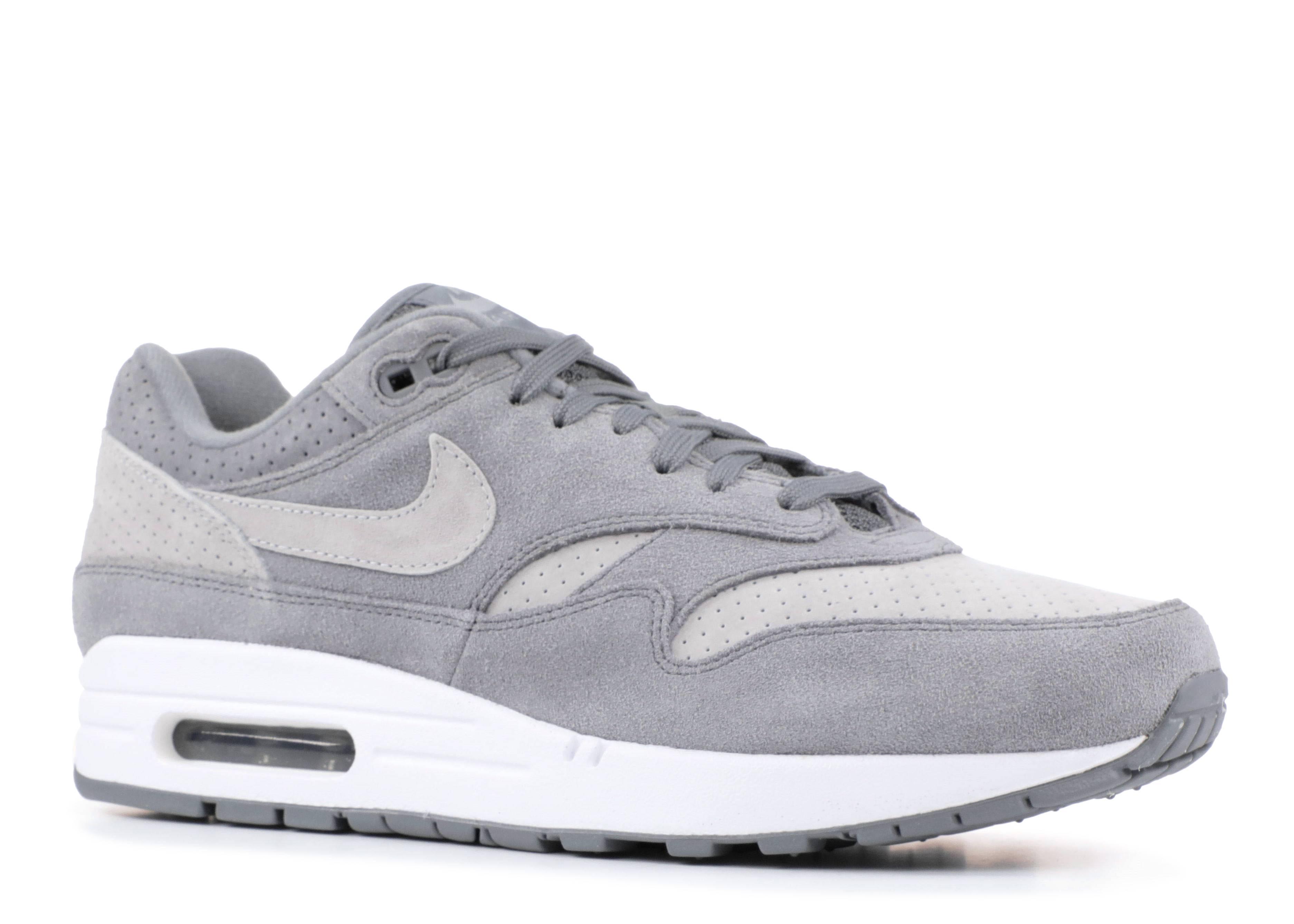 Nike Air Max 1 Premium Grey 875844 005 NOIRFONCE